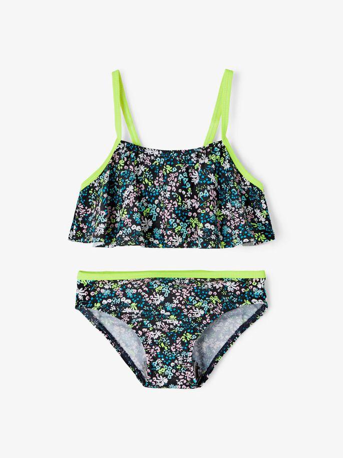 Name it Mini Blommig Bikini
