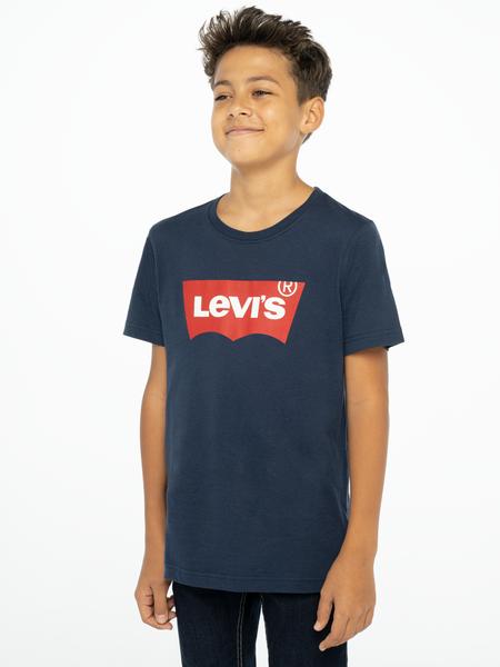 Levis Kids Logo T-shirt Marinblå