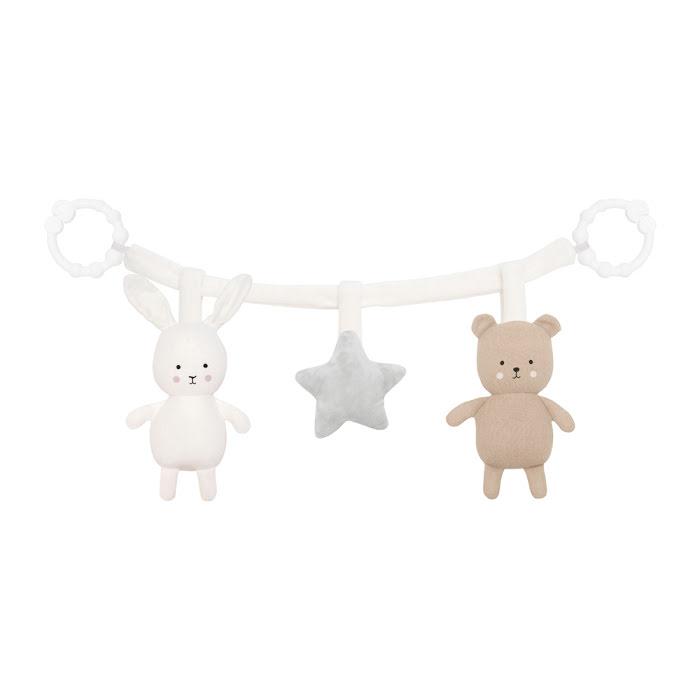 Jabadabado Barnvagnshänge Teddy/Bunny