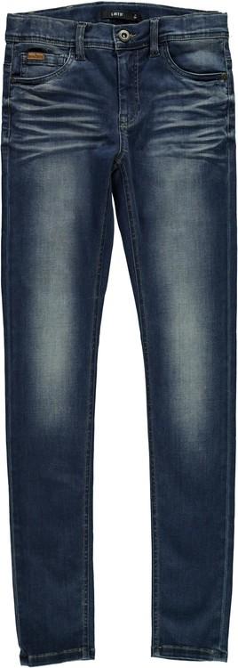 LMTD Pilou Skinny Jeans Mörkblå Denim