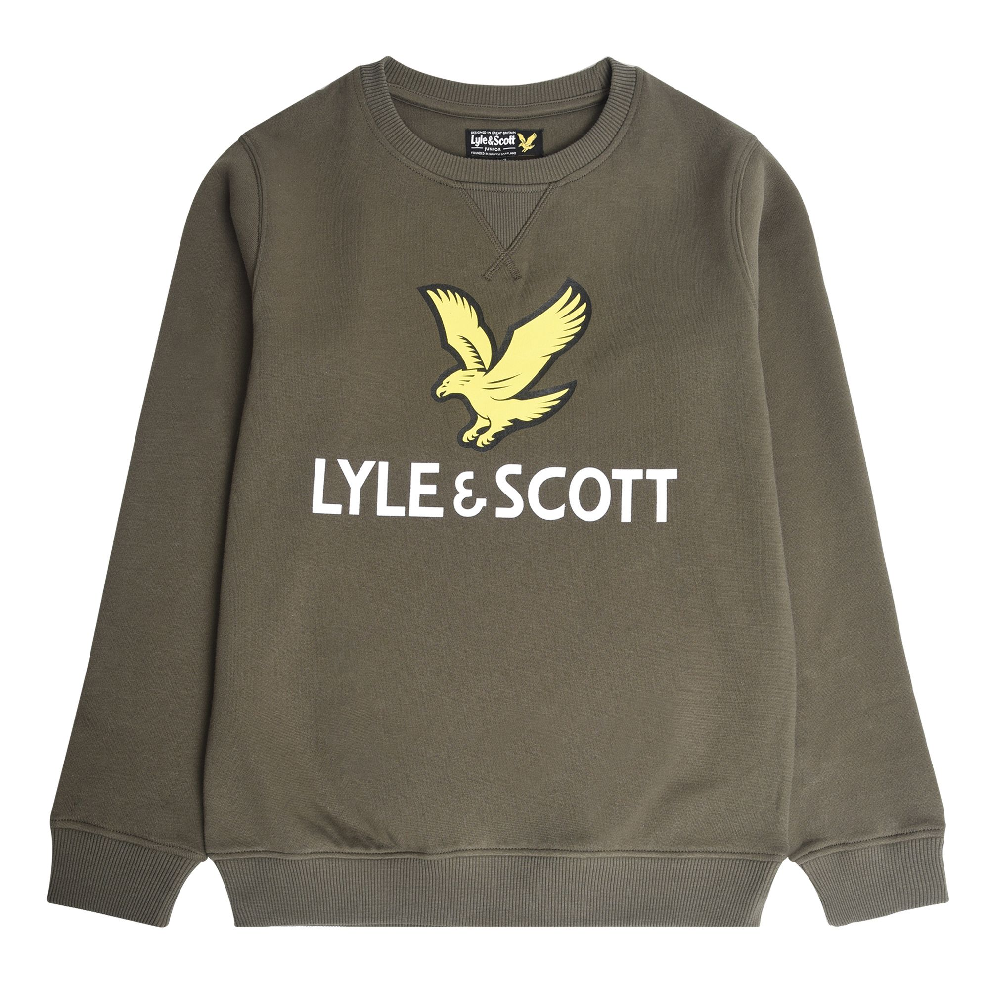 Lyle & Scott Eagle Logo Crew Neck