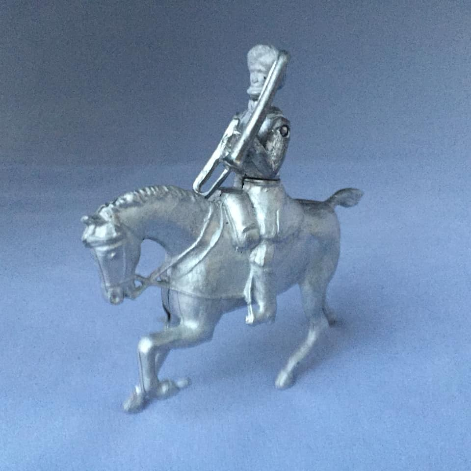 Indian Cavalry Mounted bandsman