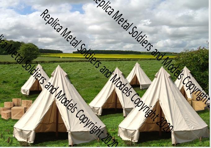Bell Tents Backdrop