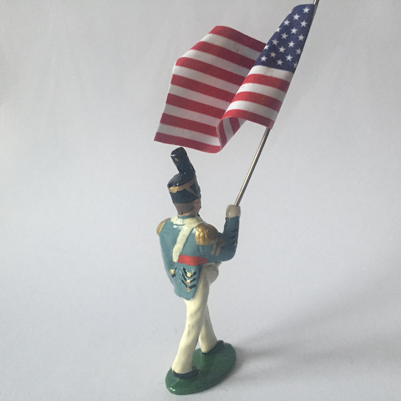 Q11. West Point Cadet Standard Bearer
