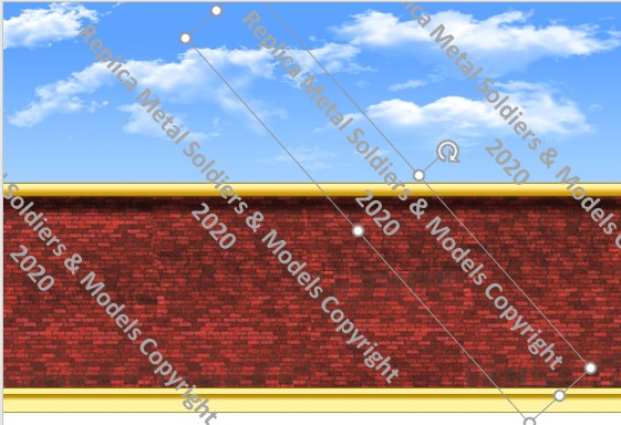 BD3. Barrck wall - Plain