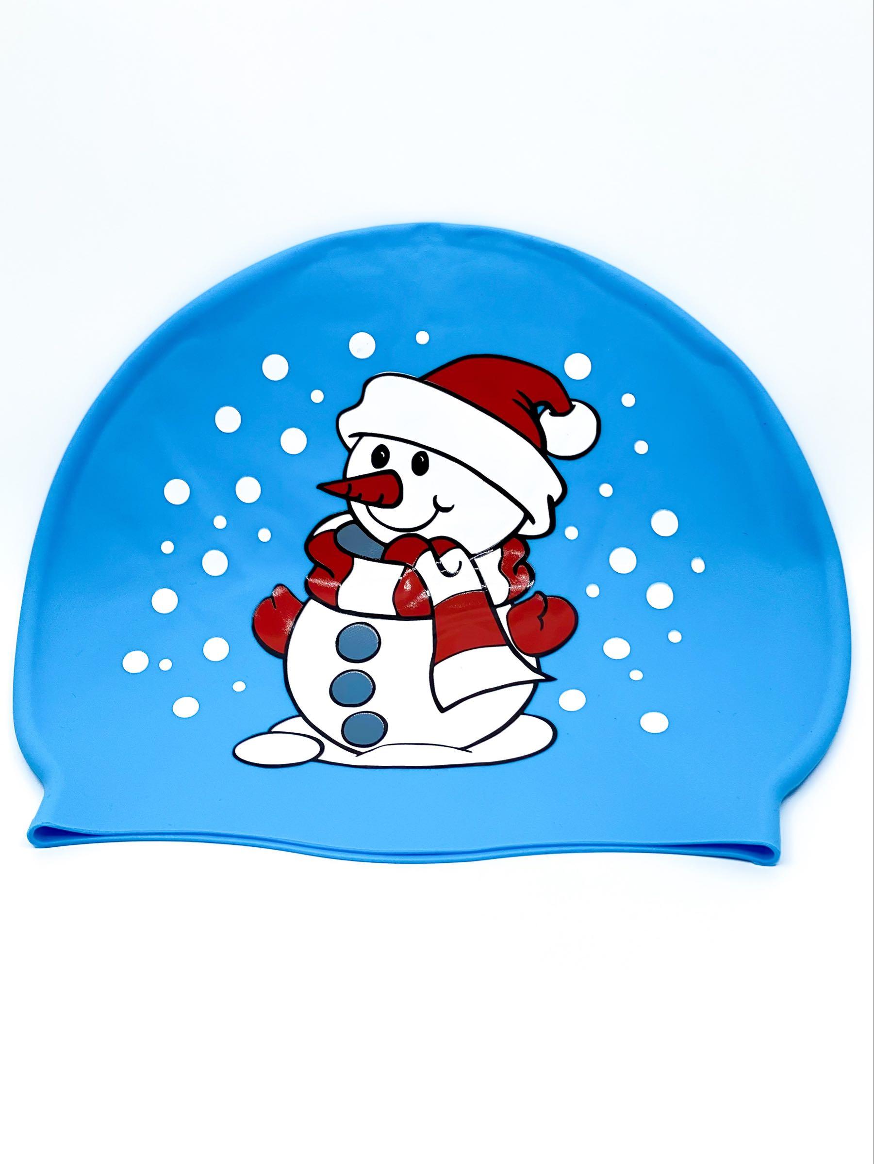 Svømmehette Julemotiv