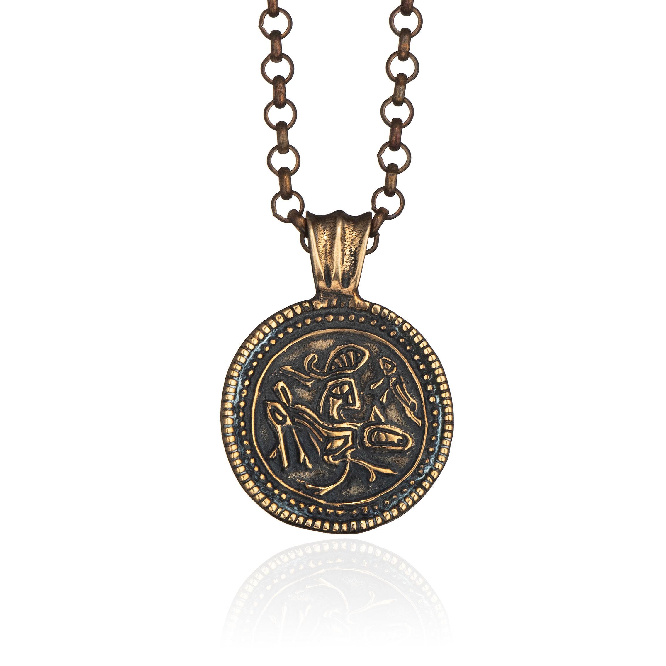 Sigmund Espeland brakteat, bronse