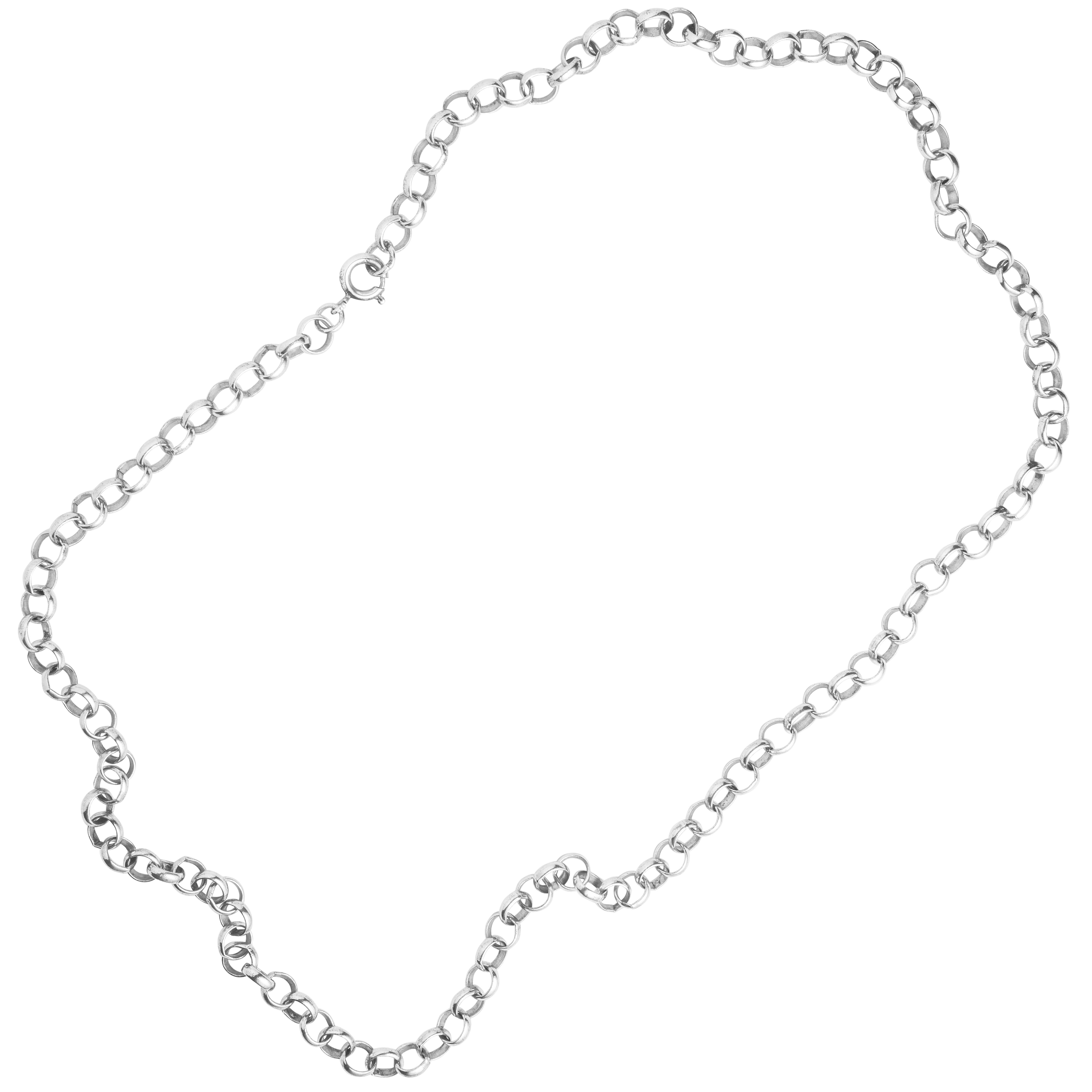 Halskjede, sølv