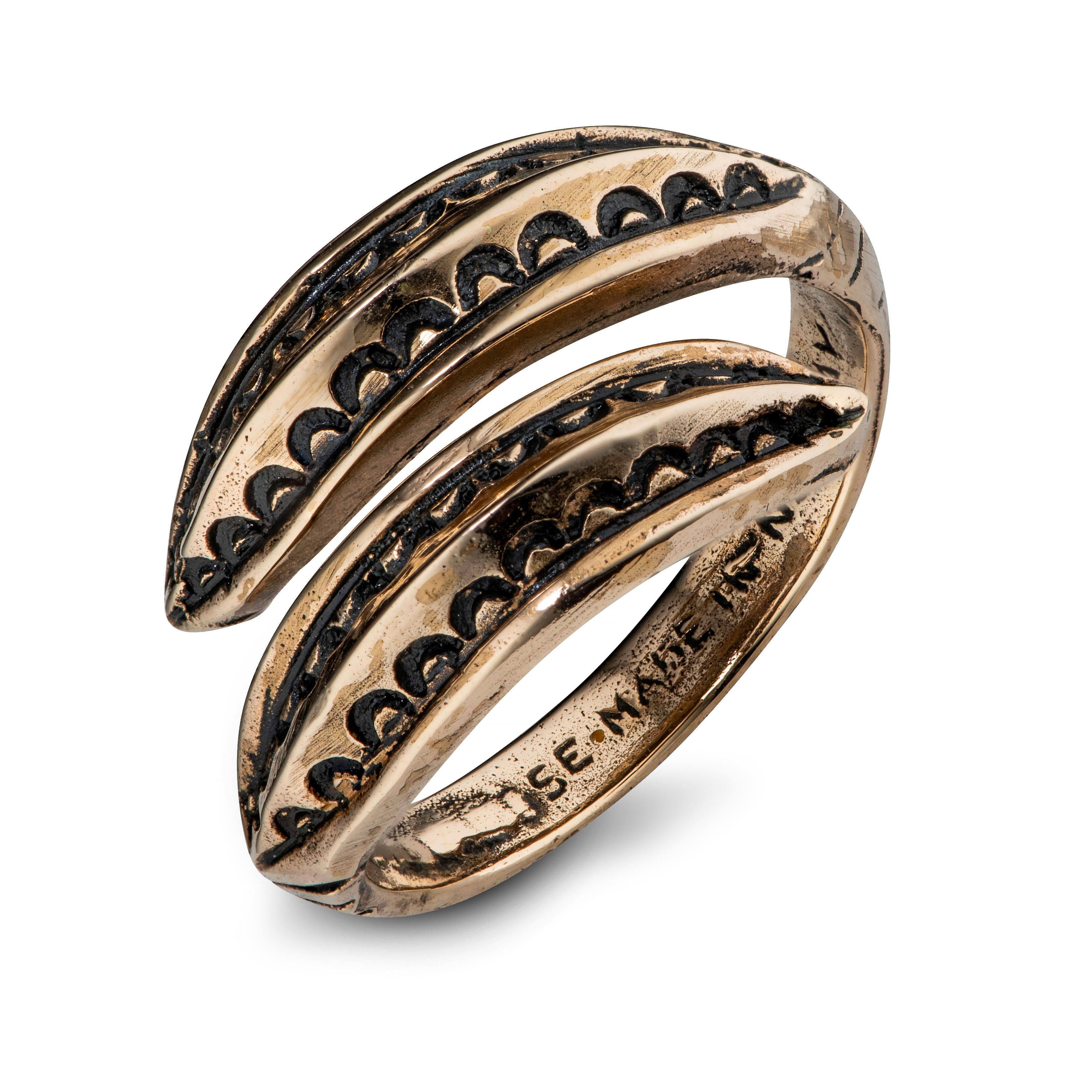 Snorre ring, bronse