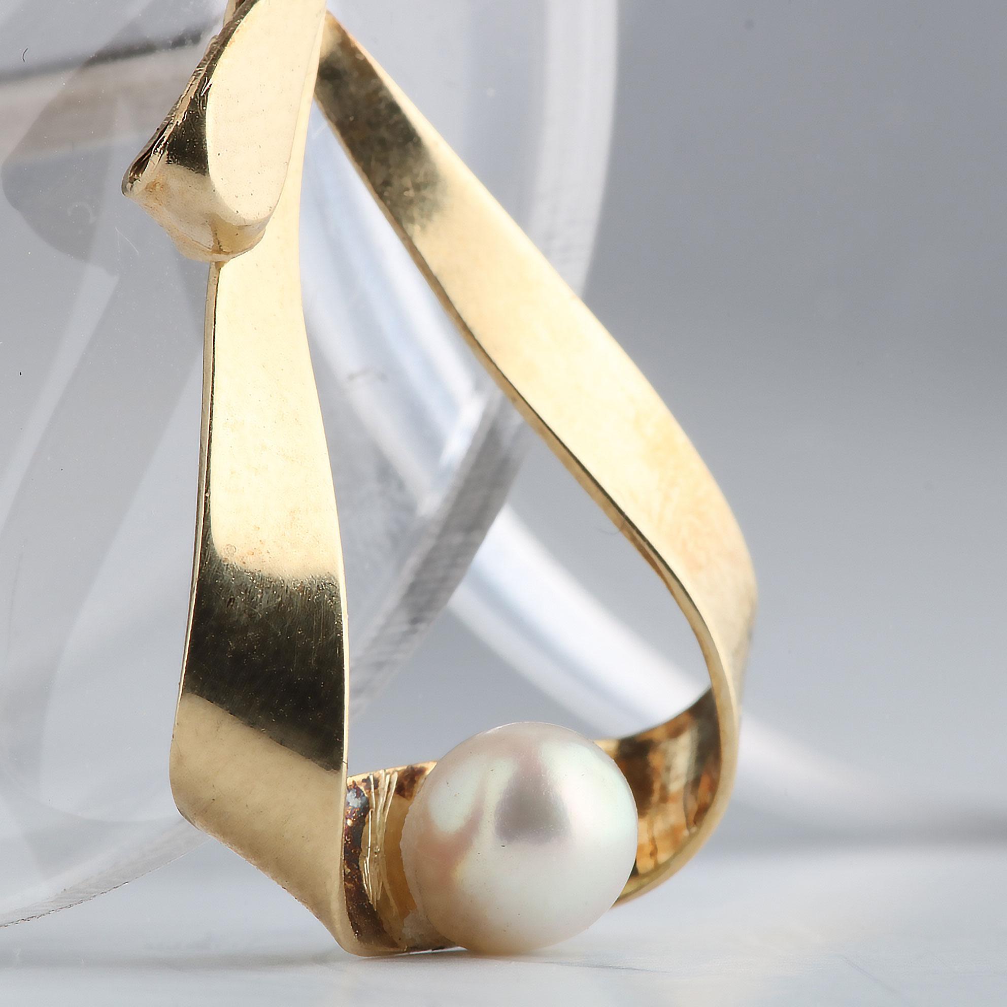 Perleanheng, gult gull