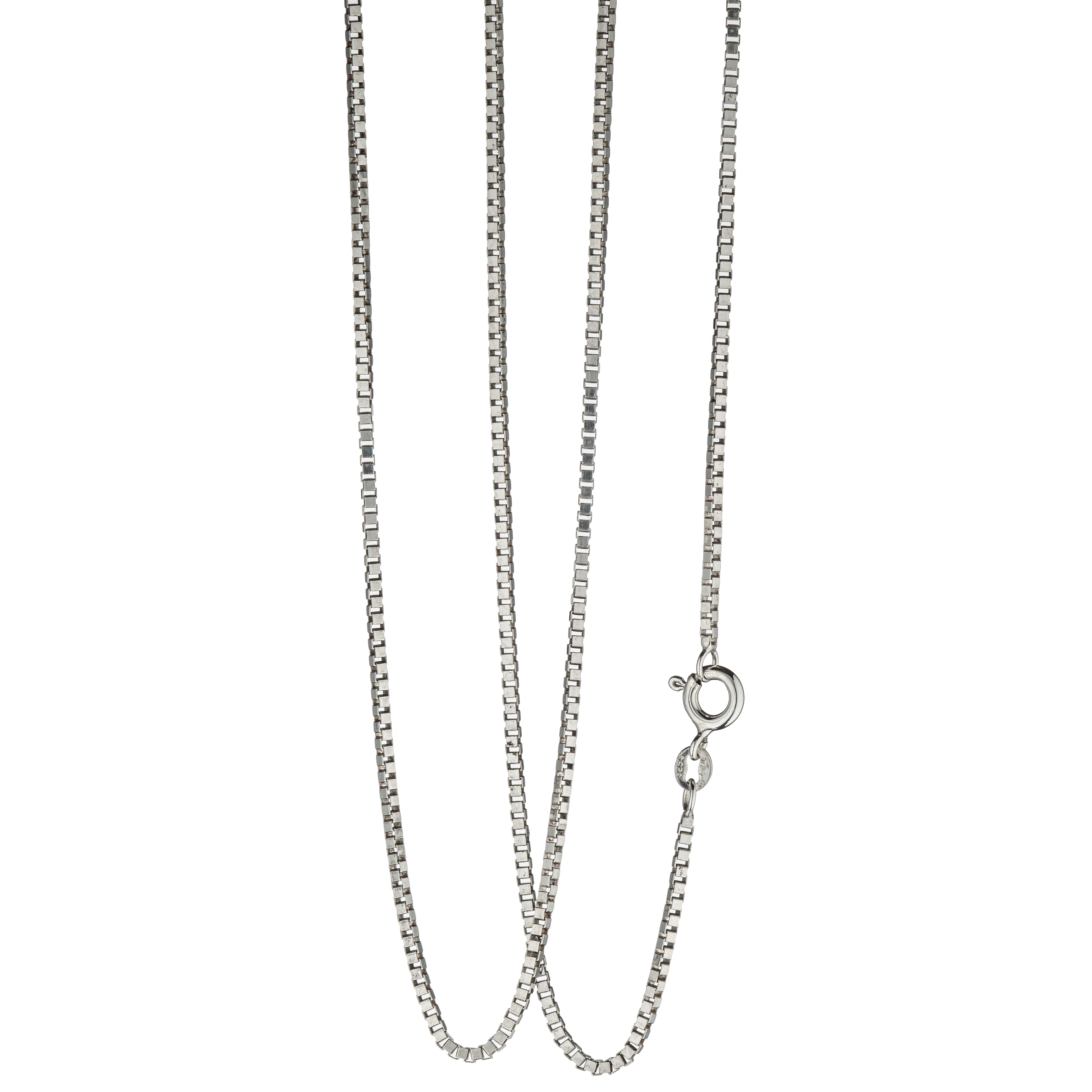 Venezia halskjede 50 cm, sterling sølv