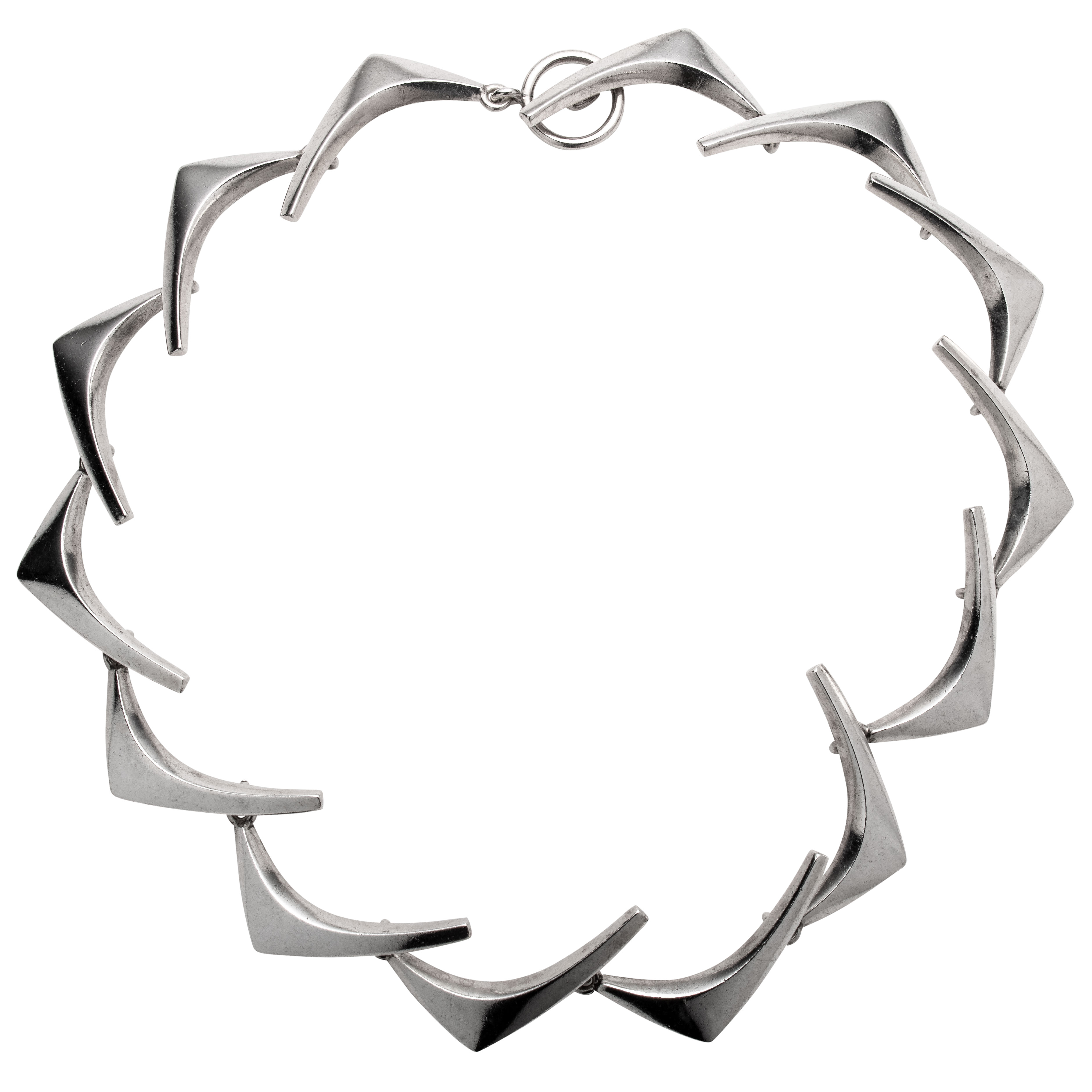 Halssmykke, sterling sølv