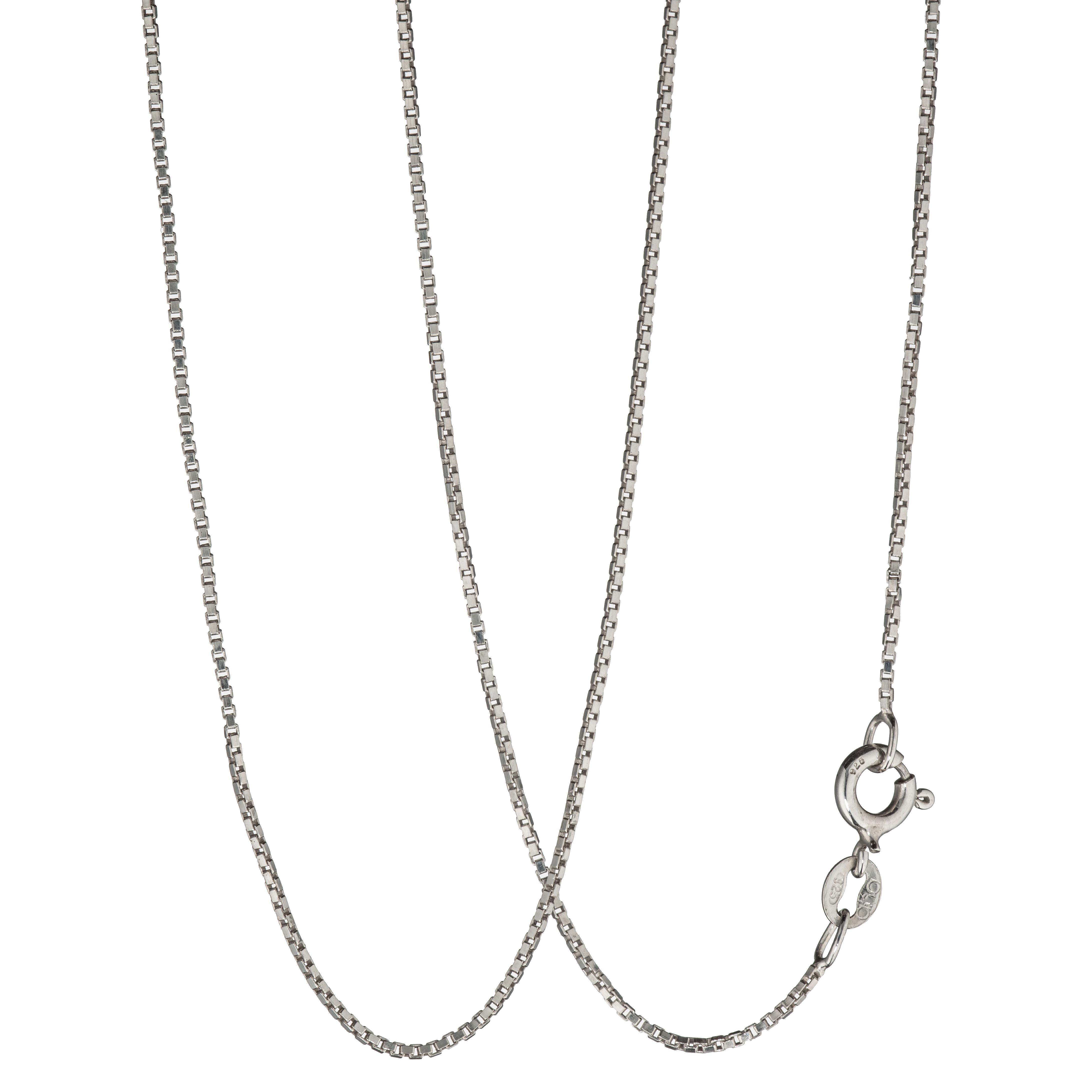 Venezia halskjede 39 cm, sterling sølv