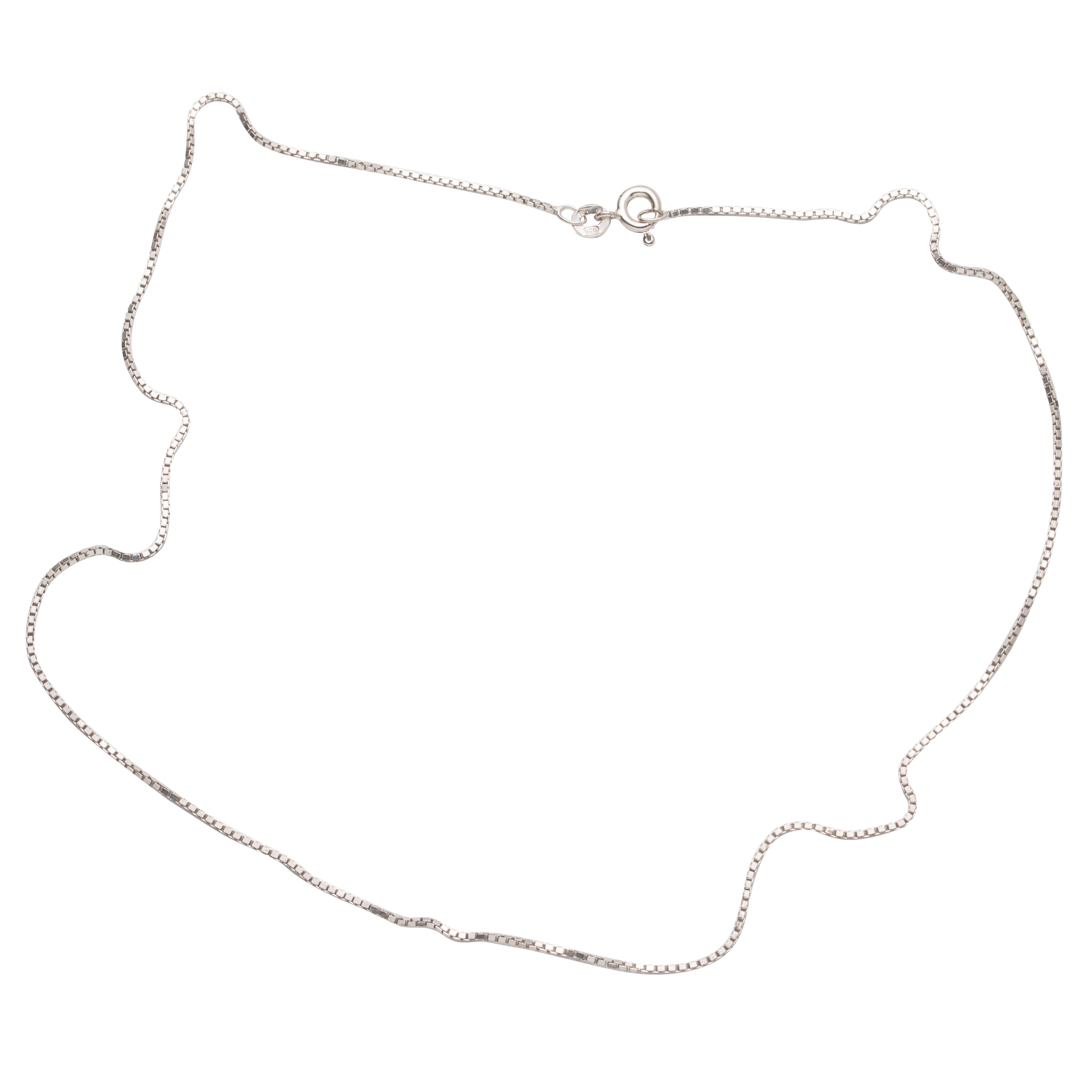 Unoarre Venezia halskjede, sterling sølv