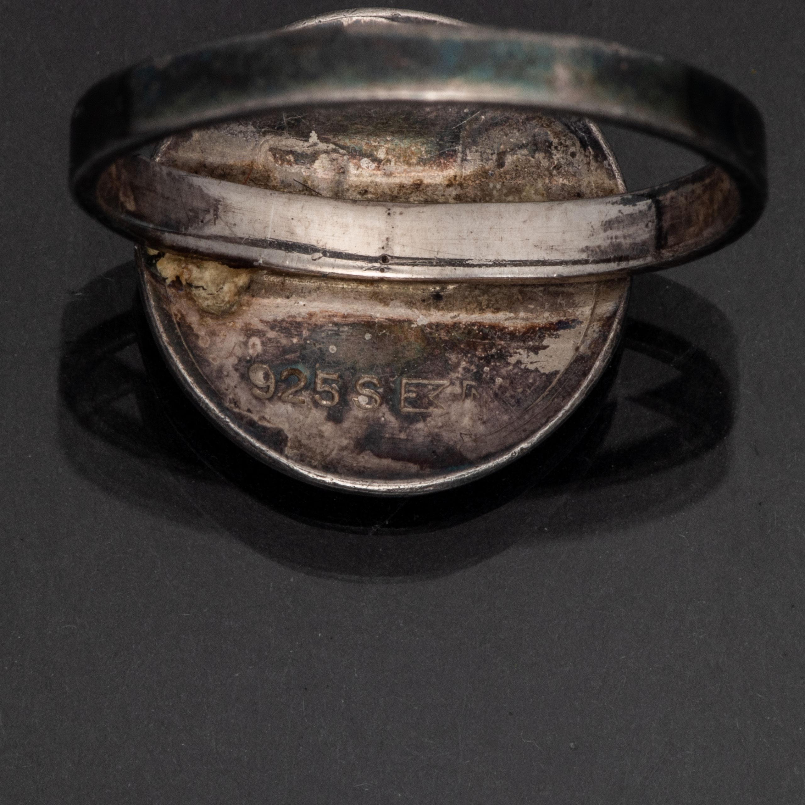 Russering, sølv, emalje