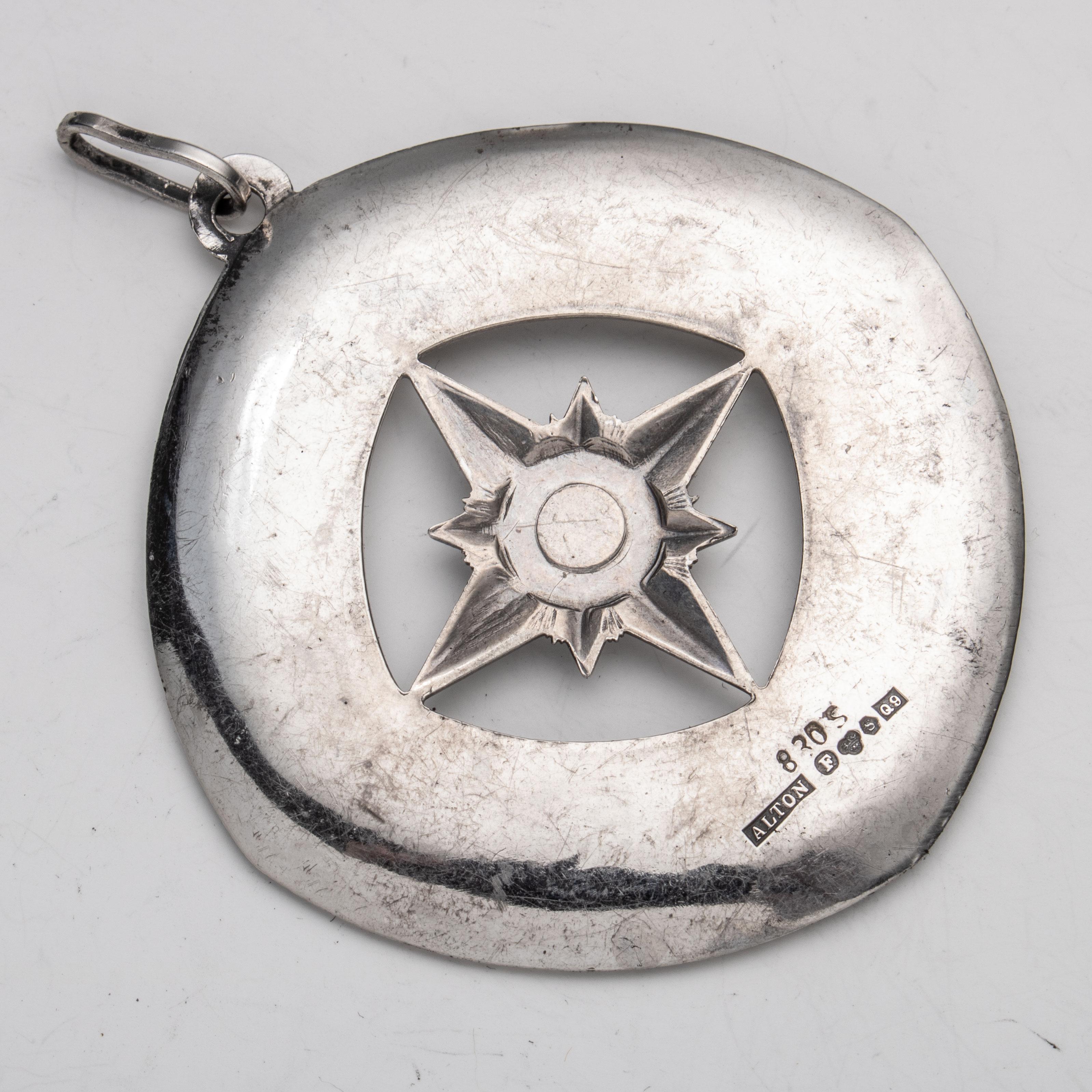 Alton Zodiak (Dyrekretsen) anheng, sølv