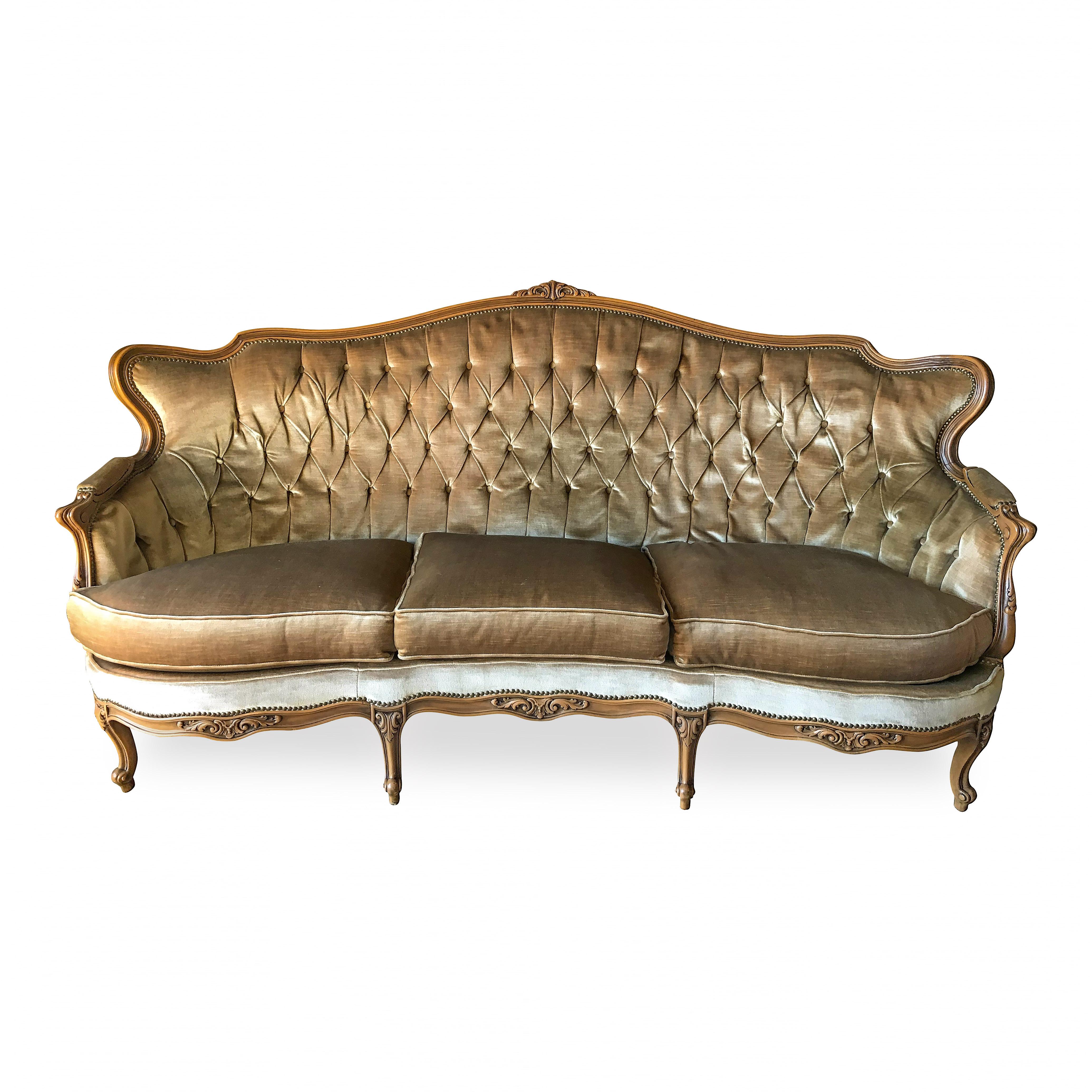 Sofa, rokokkostil