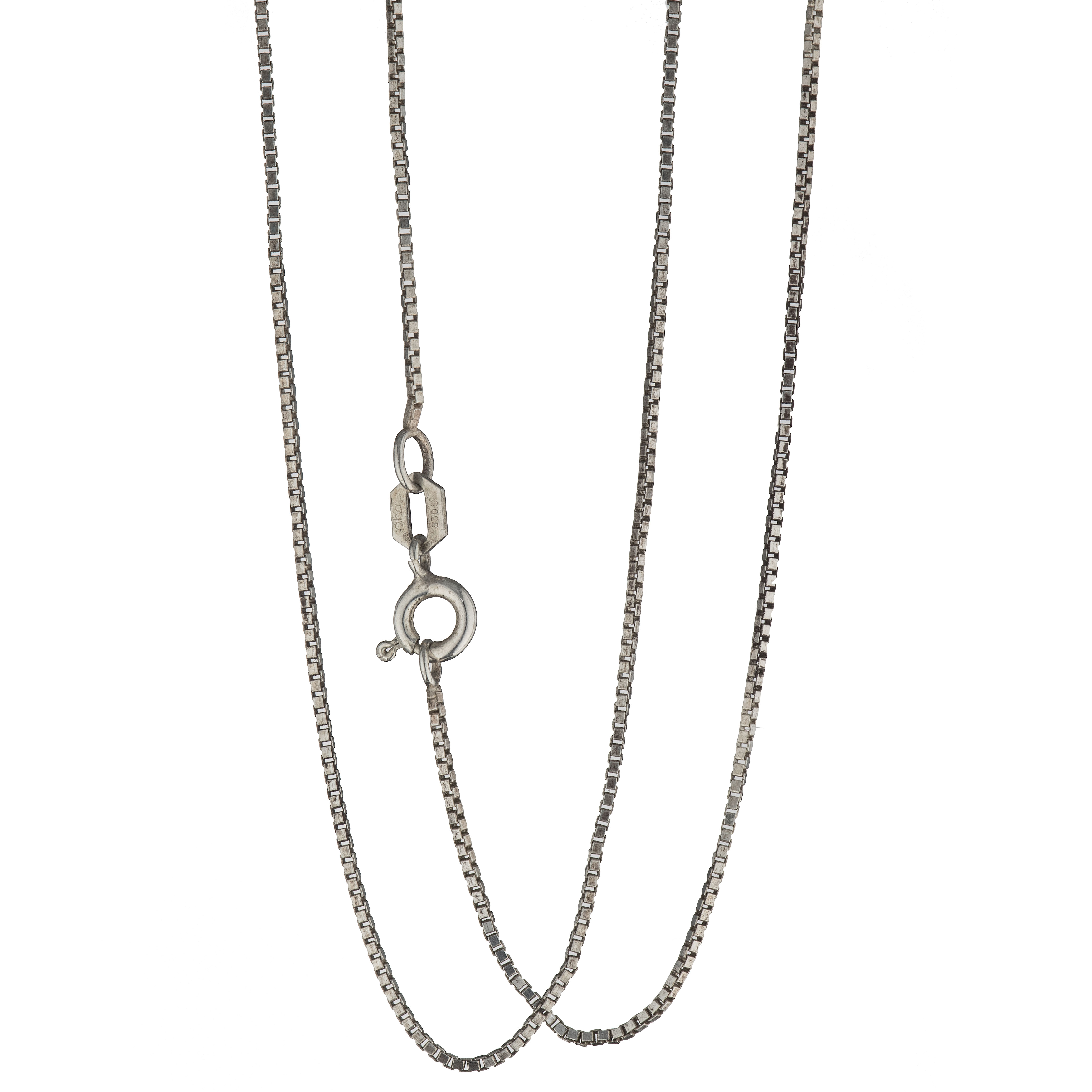 Venezia halskjede 45 cm, sølv