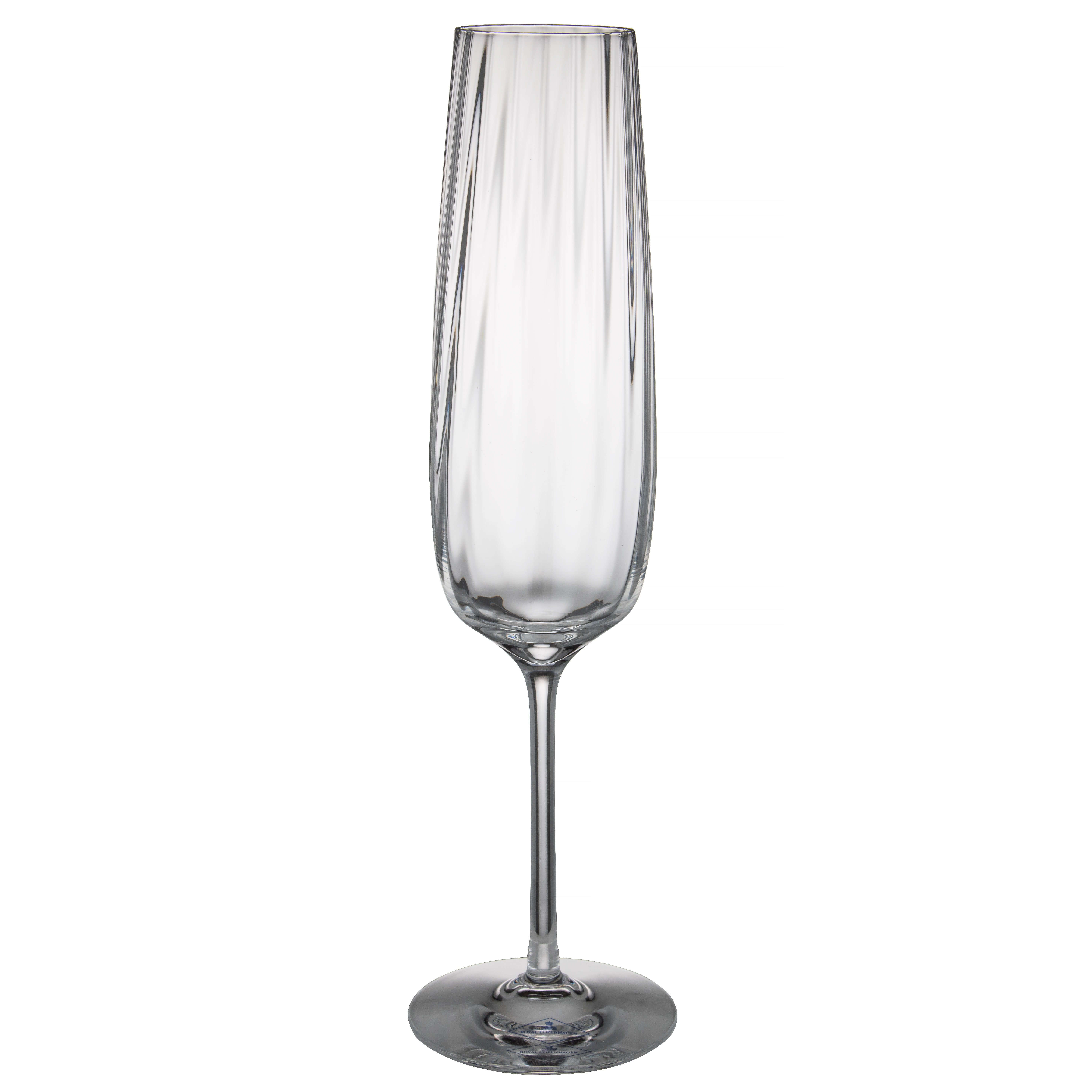 Royal Copenhagen champagne glass