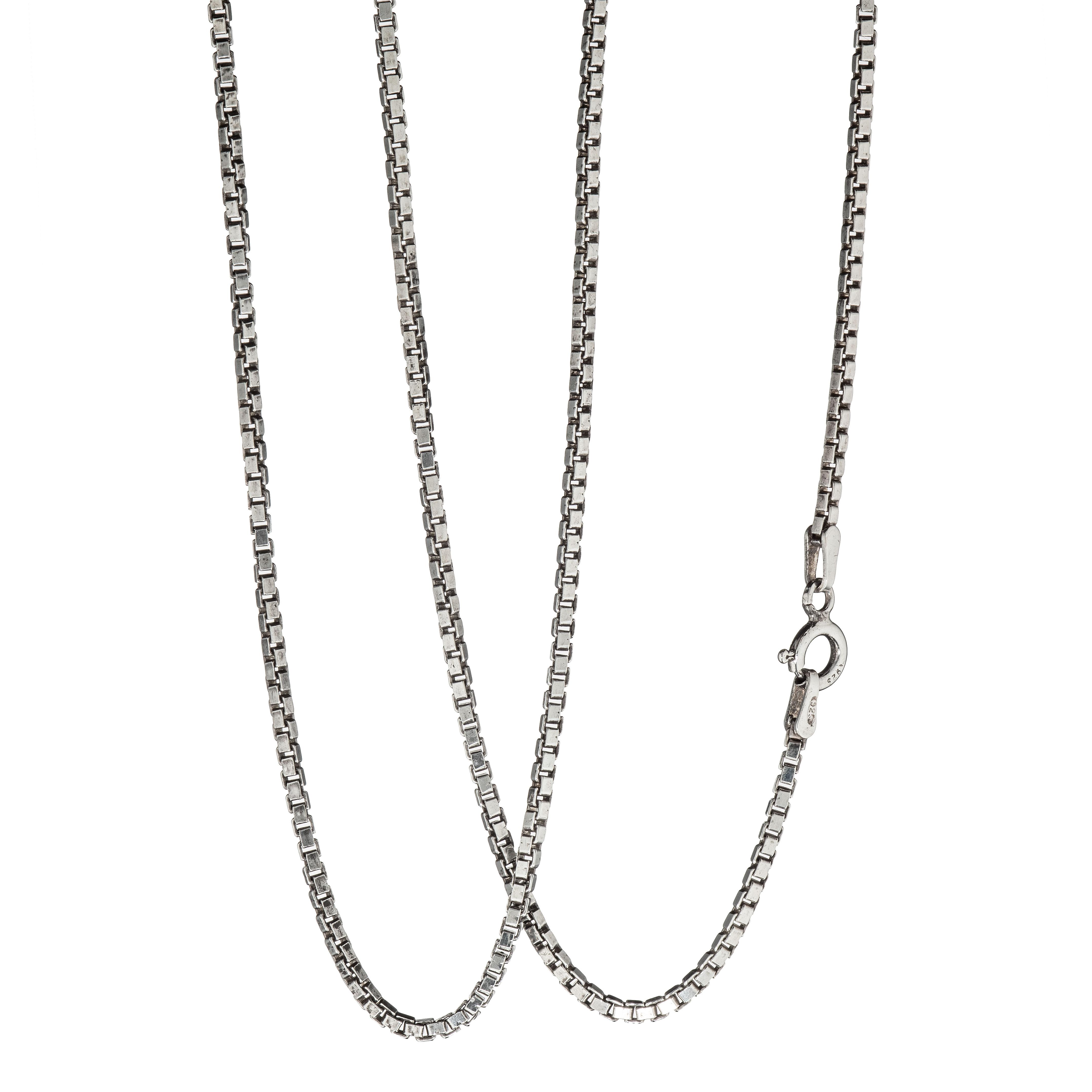 Venezia halskjede 44,5 cm, sterling sølv