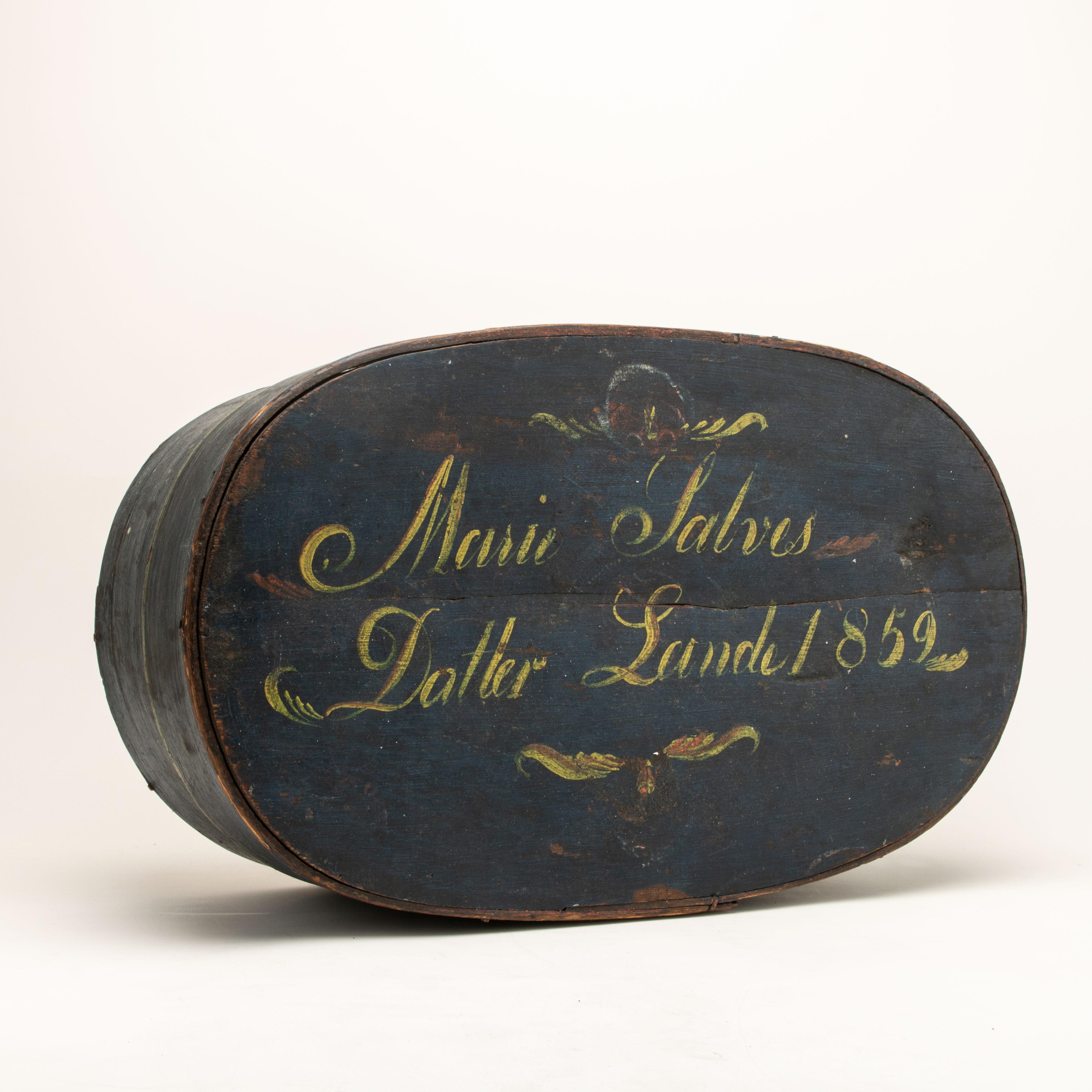 Tine, datert 1852
