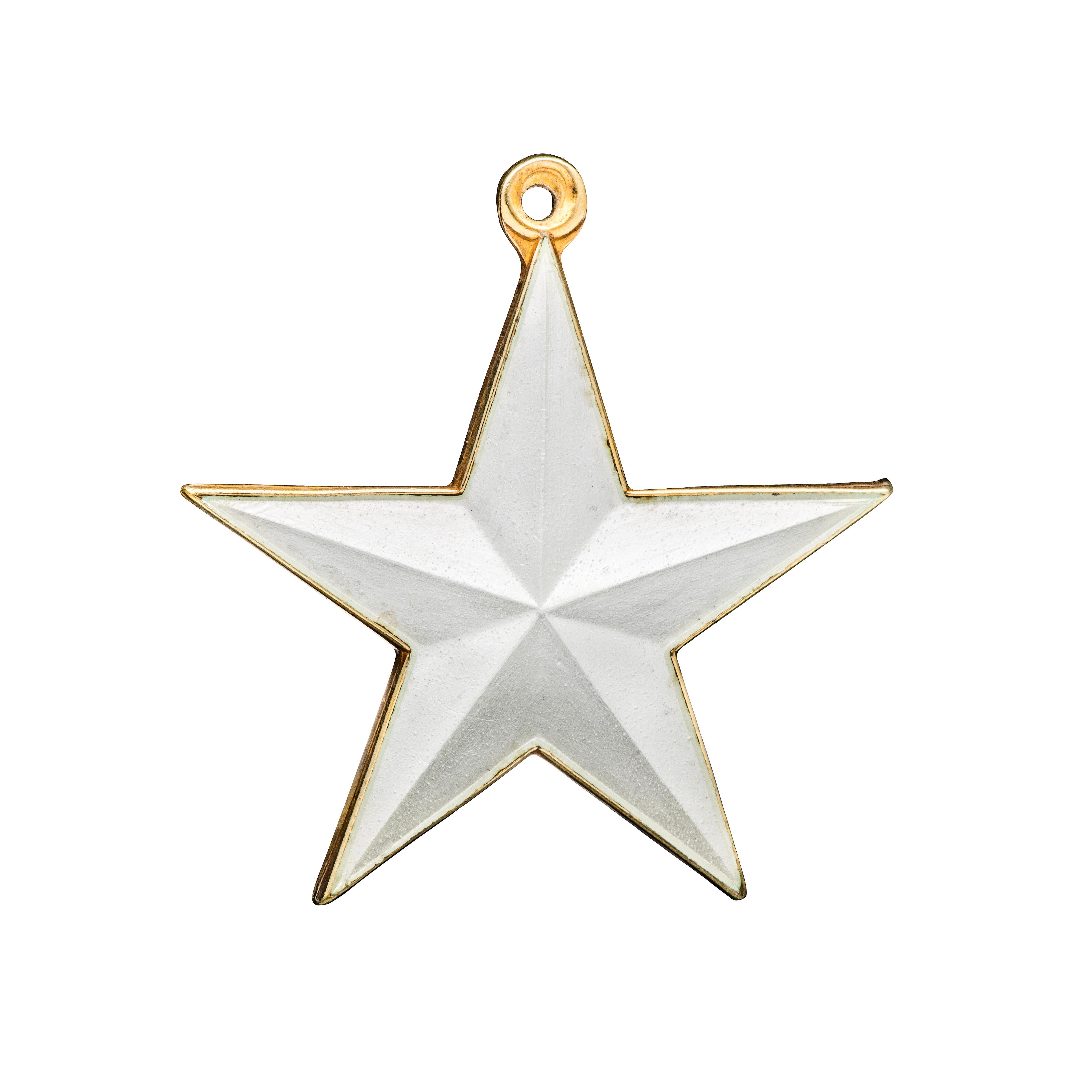 Opro stjerneanheng /-charm, sterling sølv