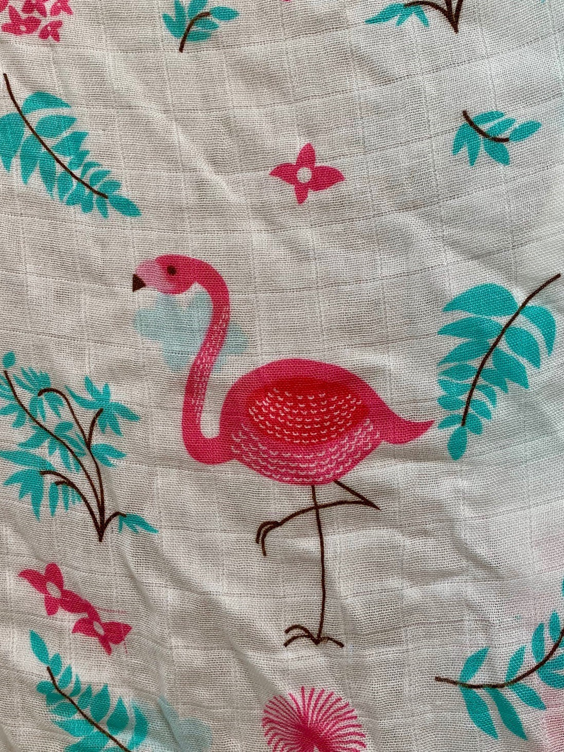 Flamingo Muslin Large