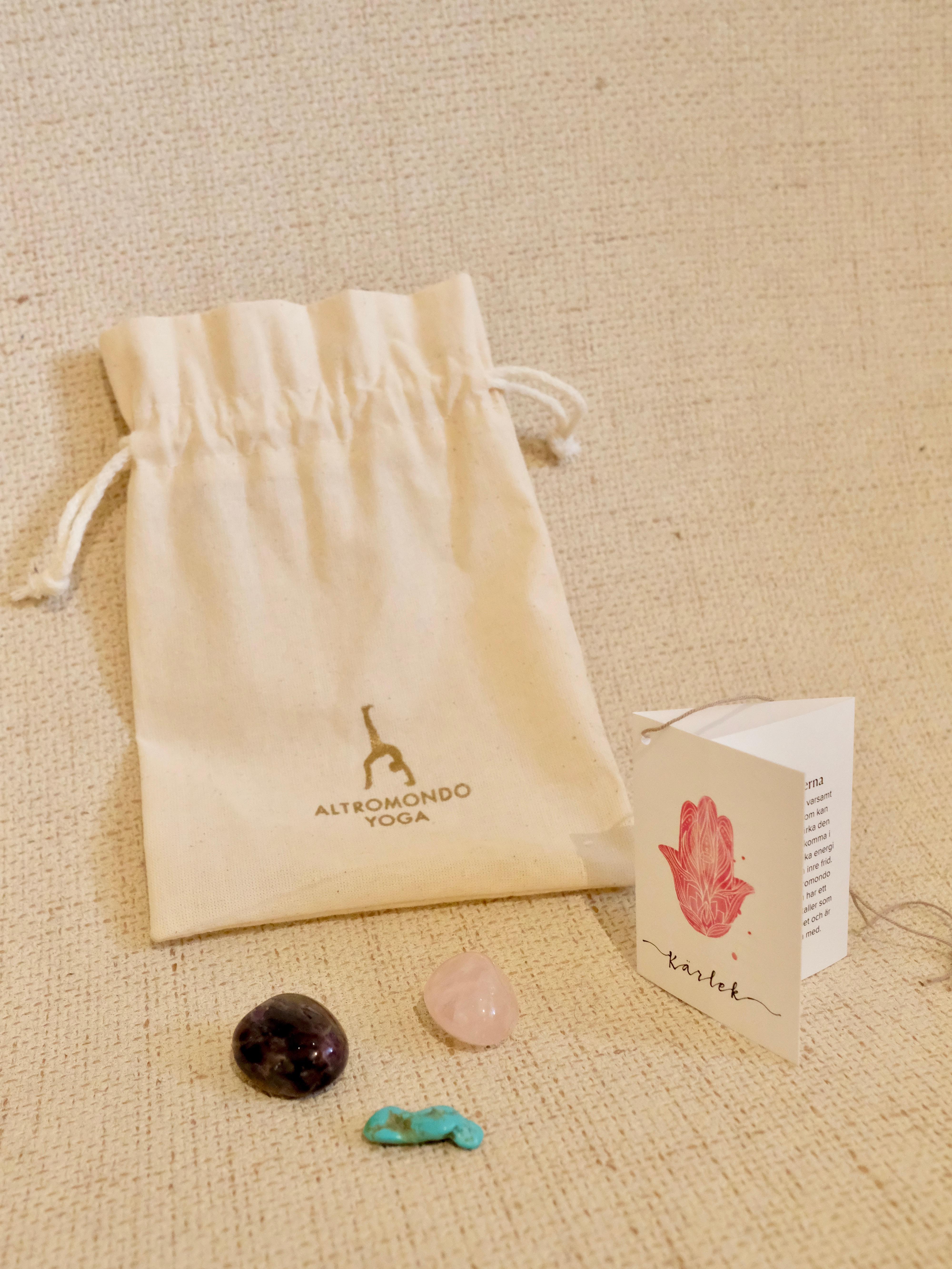 Crystal bag – Love