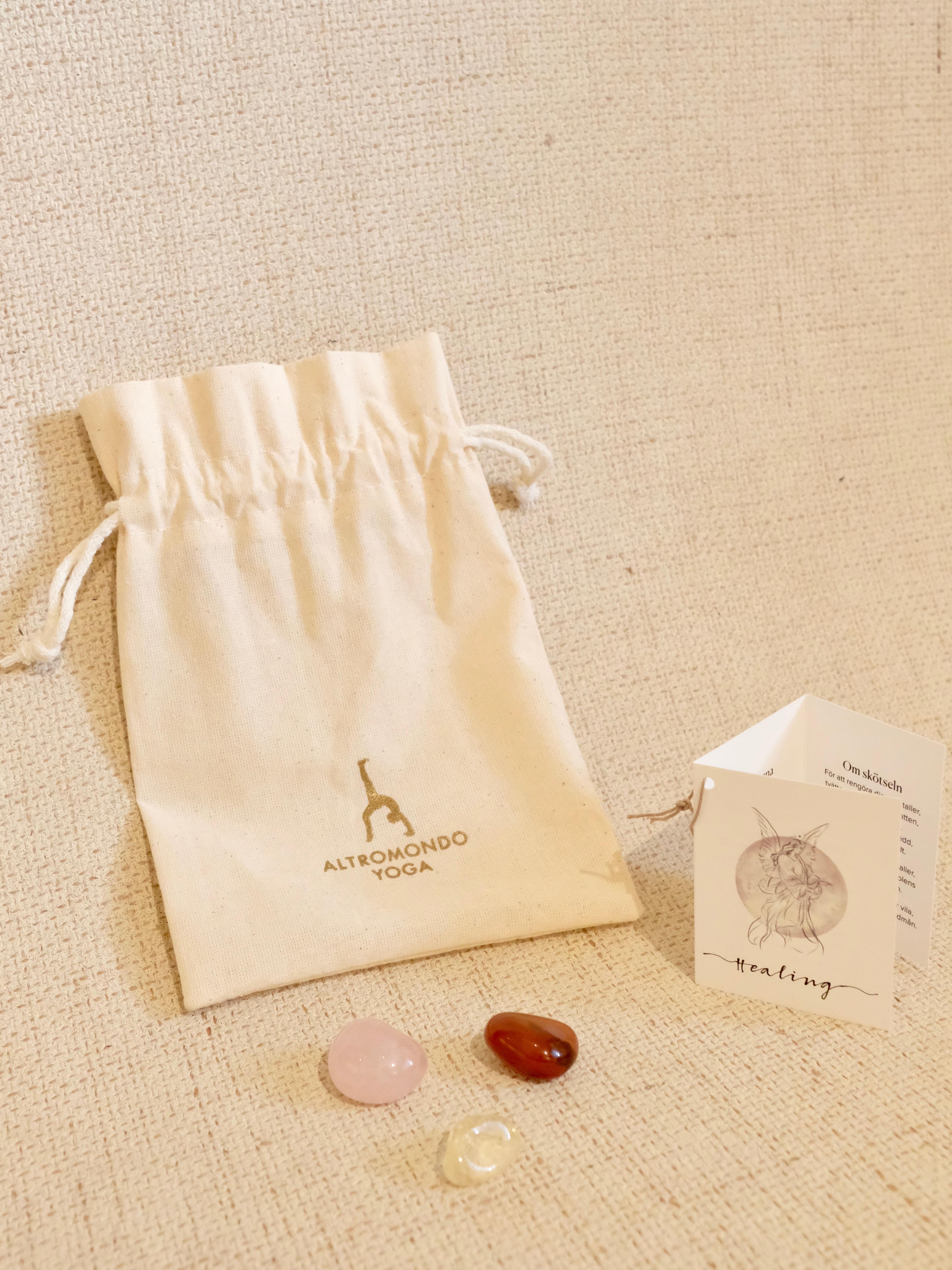 Crystal bag – Healing
