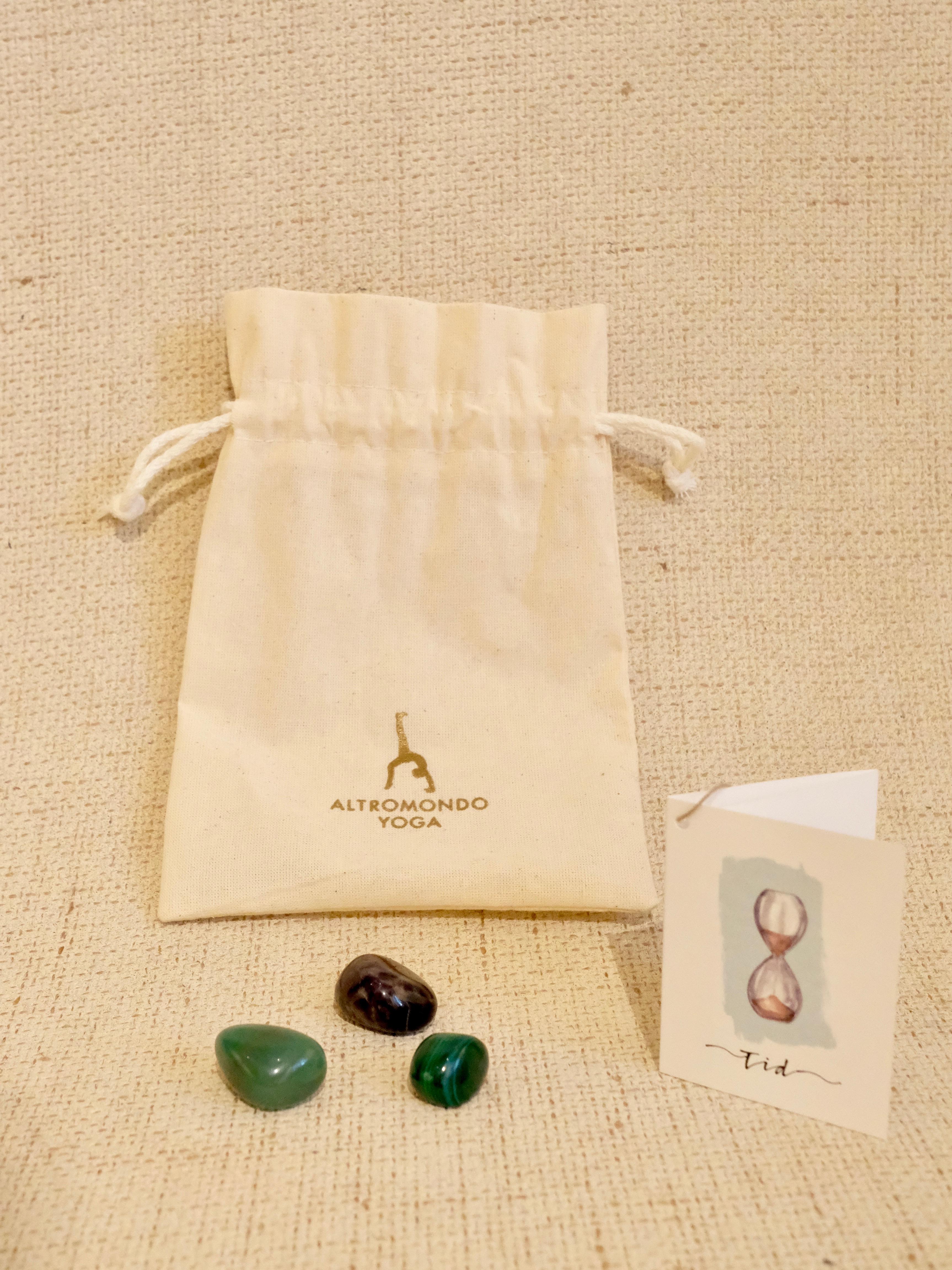 Crystal bag – Time