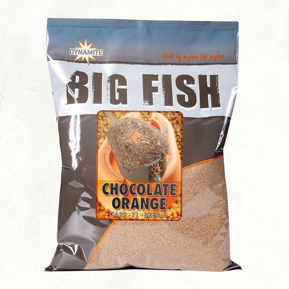 Dynamite Big Fish Chocolate Orange Groundbait