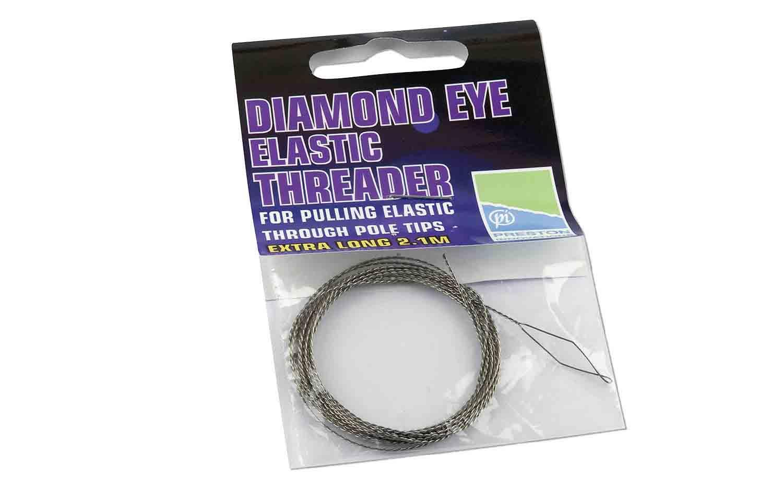 Preston Innovations Diamond Eye Elastic Threader