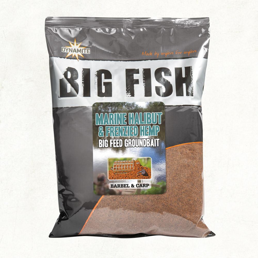 Dynamite Big Fish Marine Halibut & Frenzied Hemp Groundbait