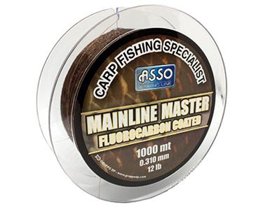 Asso Carp Mainline Master Fluorocarbon Coated Line