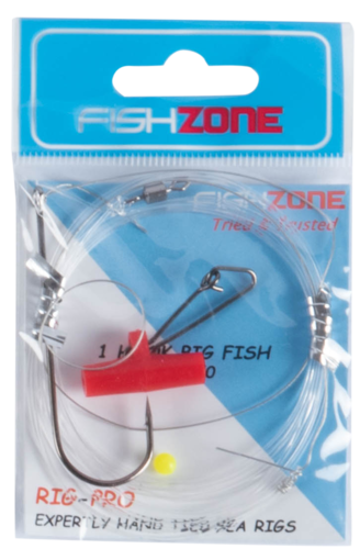 Fishzone 1 Hook Big Fish Rig (Size 7/0)