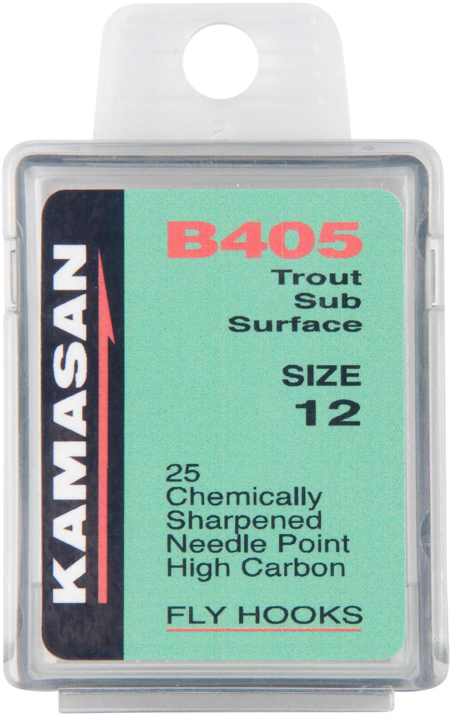 Kamasan B405 Trout Fly Hooks (Size 12)