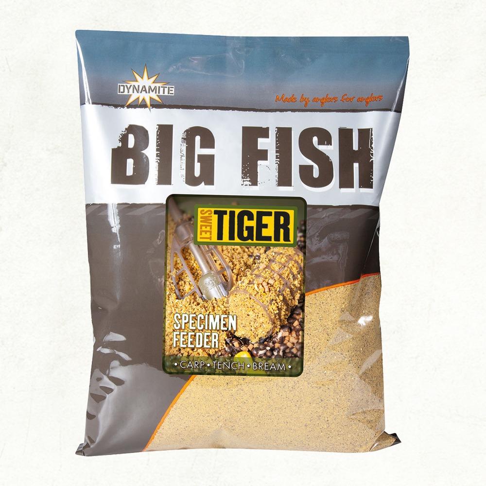 Dynamite Big Fish Sweet Tiger Specimen Feeder Groundbait