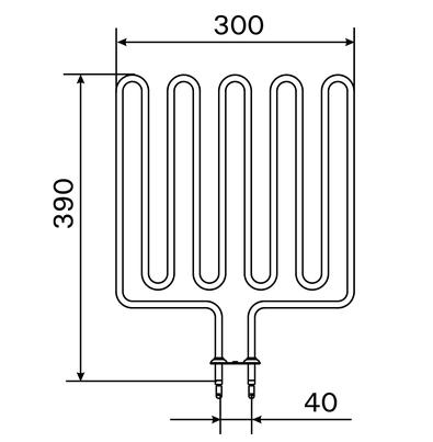 ZSK-710 2670 W/230 V