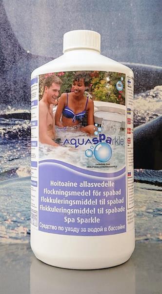 Aquasparkle Crystal Exelent Vedenhoitoaine ja kirkaste allasvedelle 1L