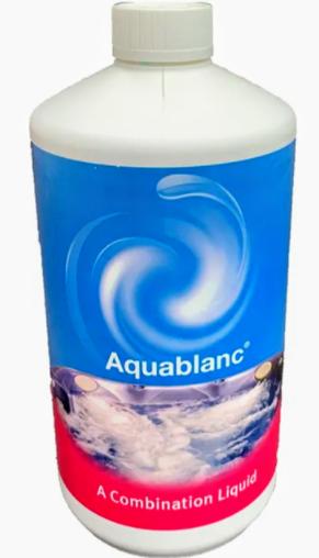 Aquablanc klooriton vedenhoitoaine 1L uima- ja porealtaille