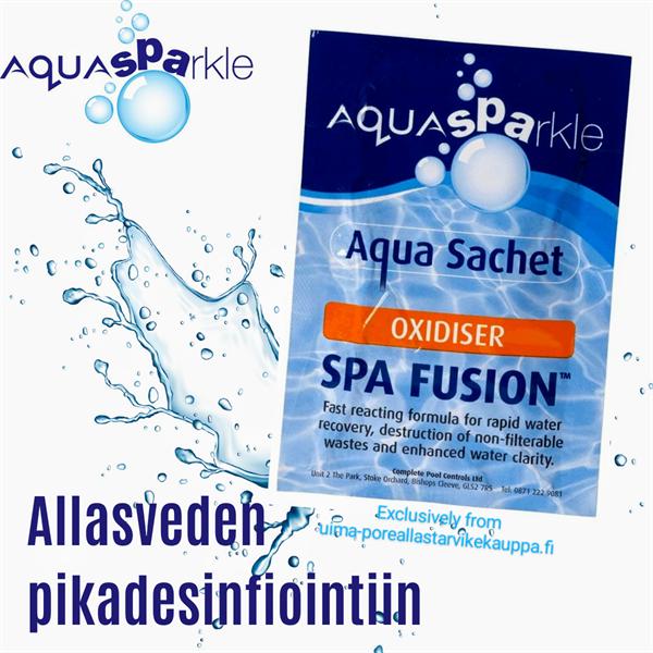 Aquasparkle 1 x Spa Fusion Pikadesifionti kerta-annospussi 35g