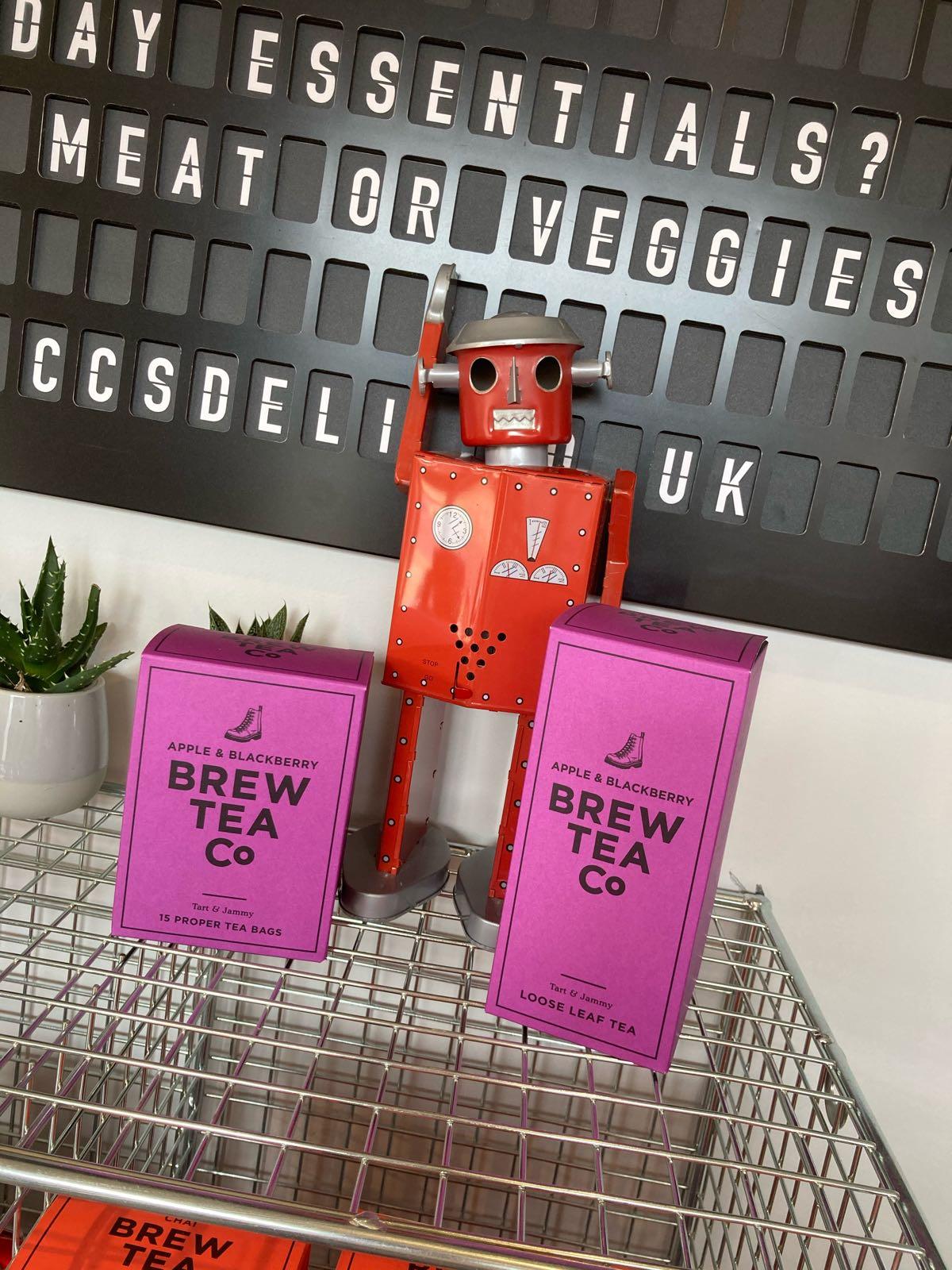 Brew Tea Co Apple & Blackberry - 1/4lb Loose Leaf