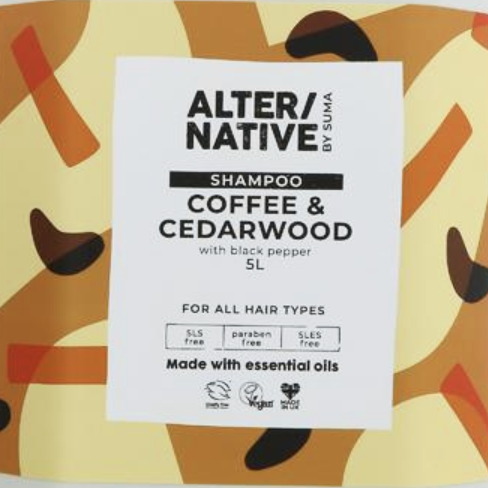Coffee & cedarwood shampoo (all hairtypes)