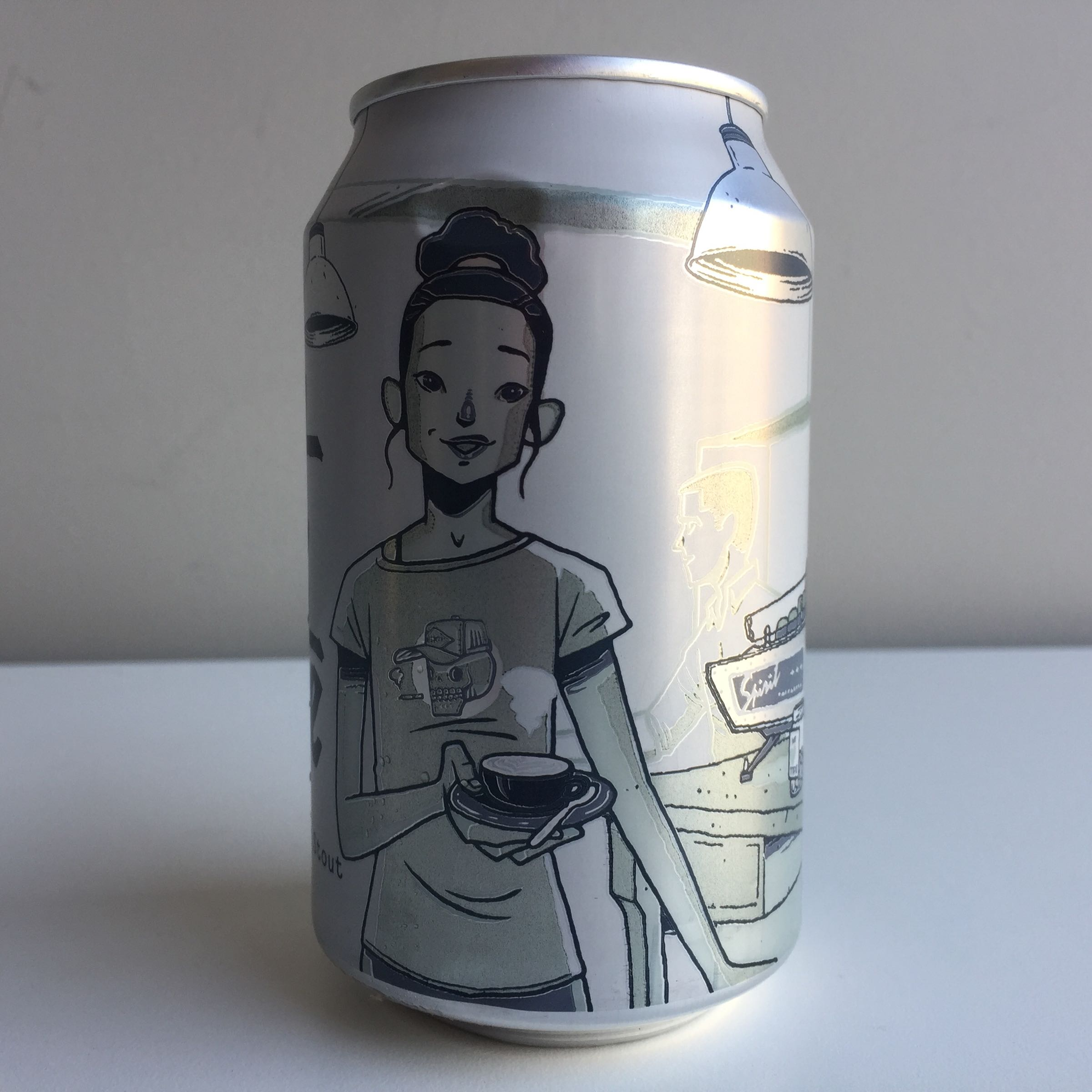 Alphabet Brewing Co. 'Flat White' 330ml 7.4% ABV