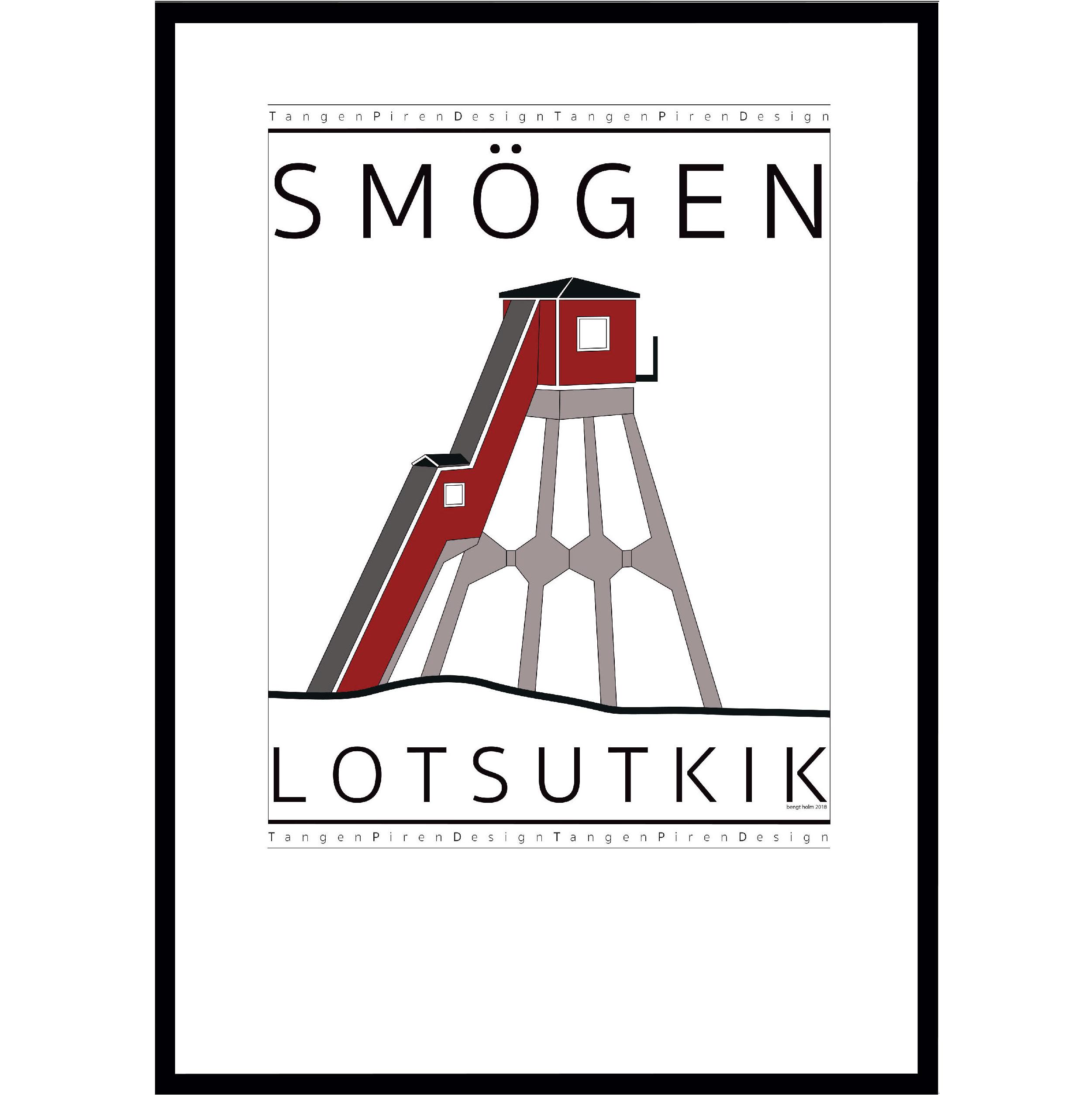 A14 Poster Smögens Lotsutkik