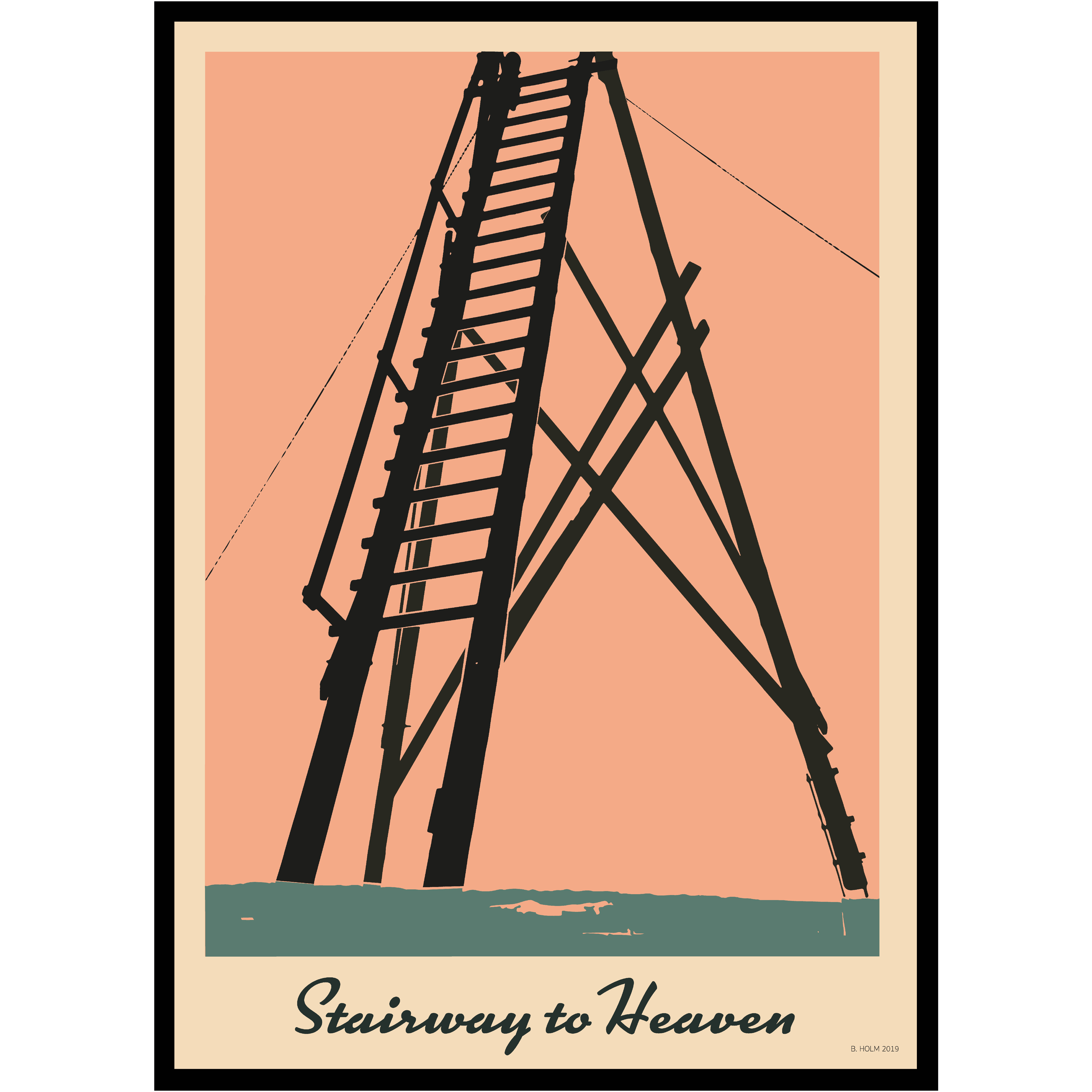 A011 Poster Stairway to Heaven
