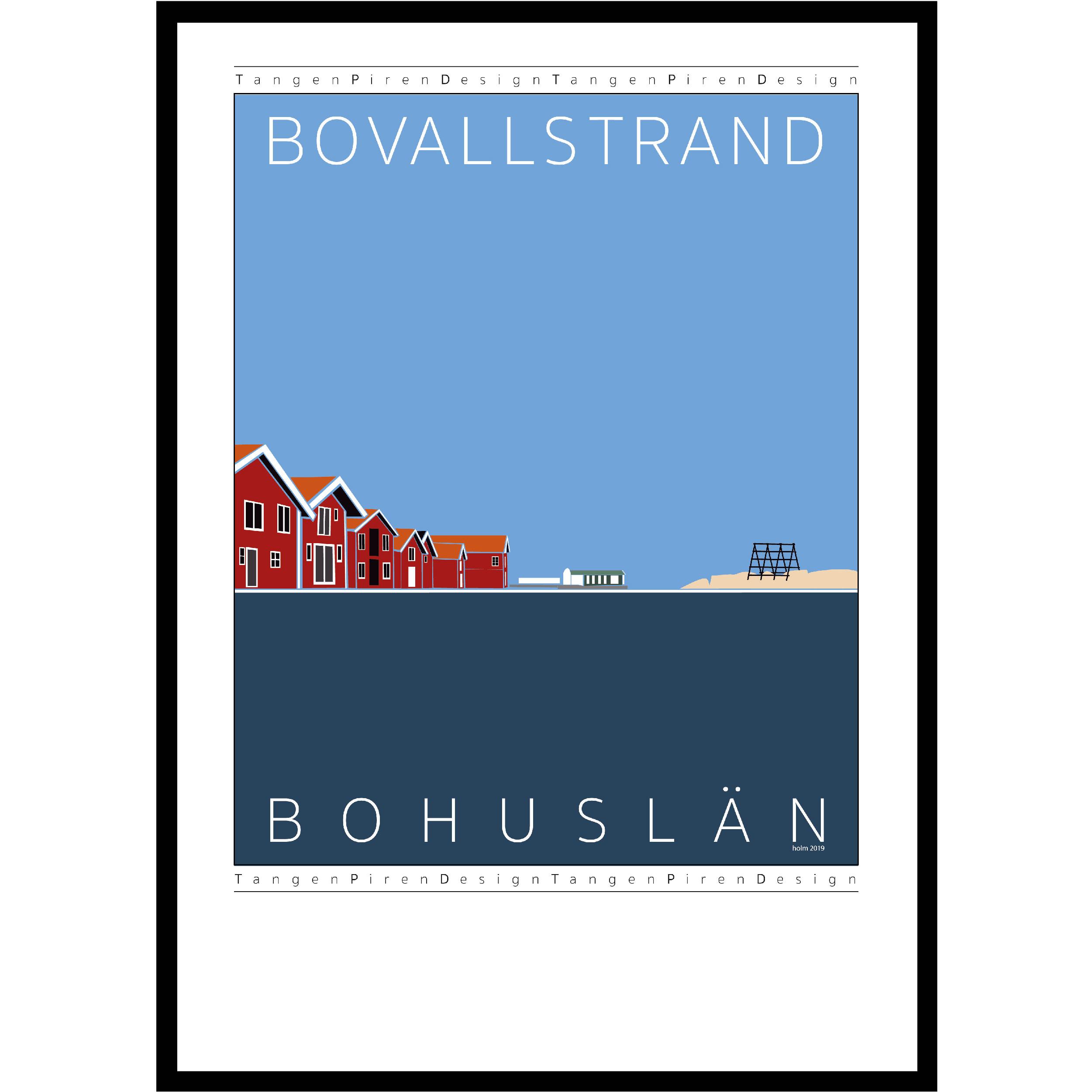 A06 Poster Bovallstrand med vadbock