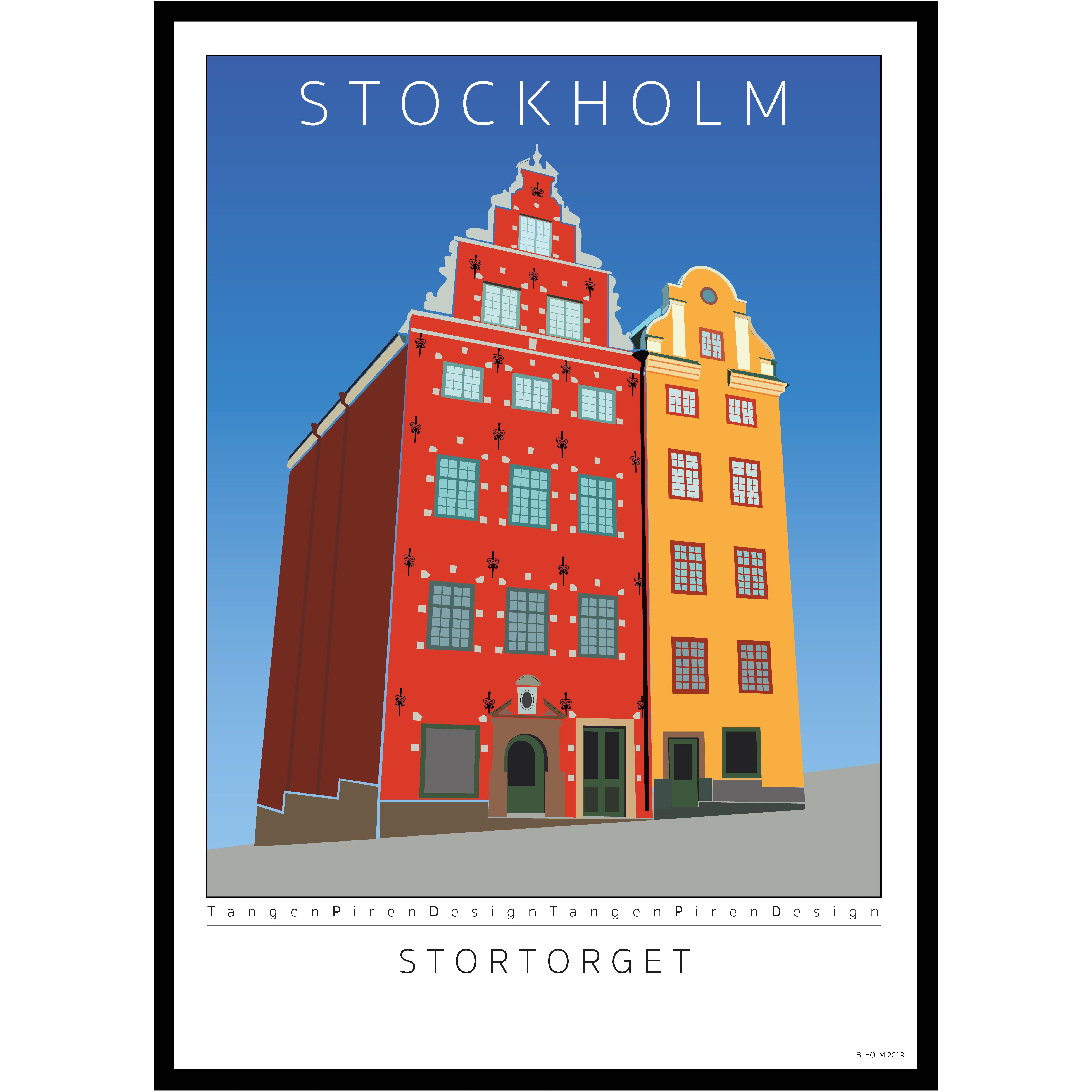 A010 Poster Stockholm Stortorget