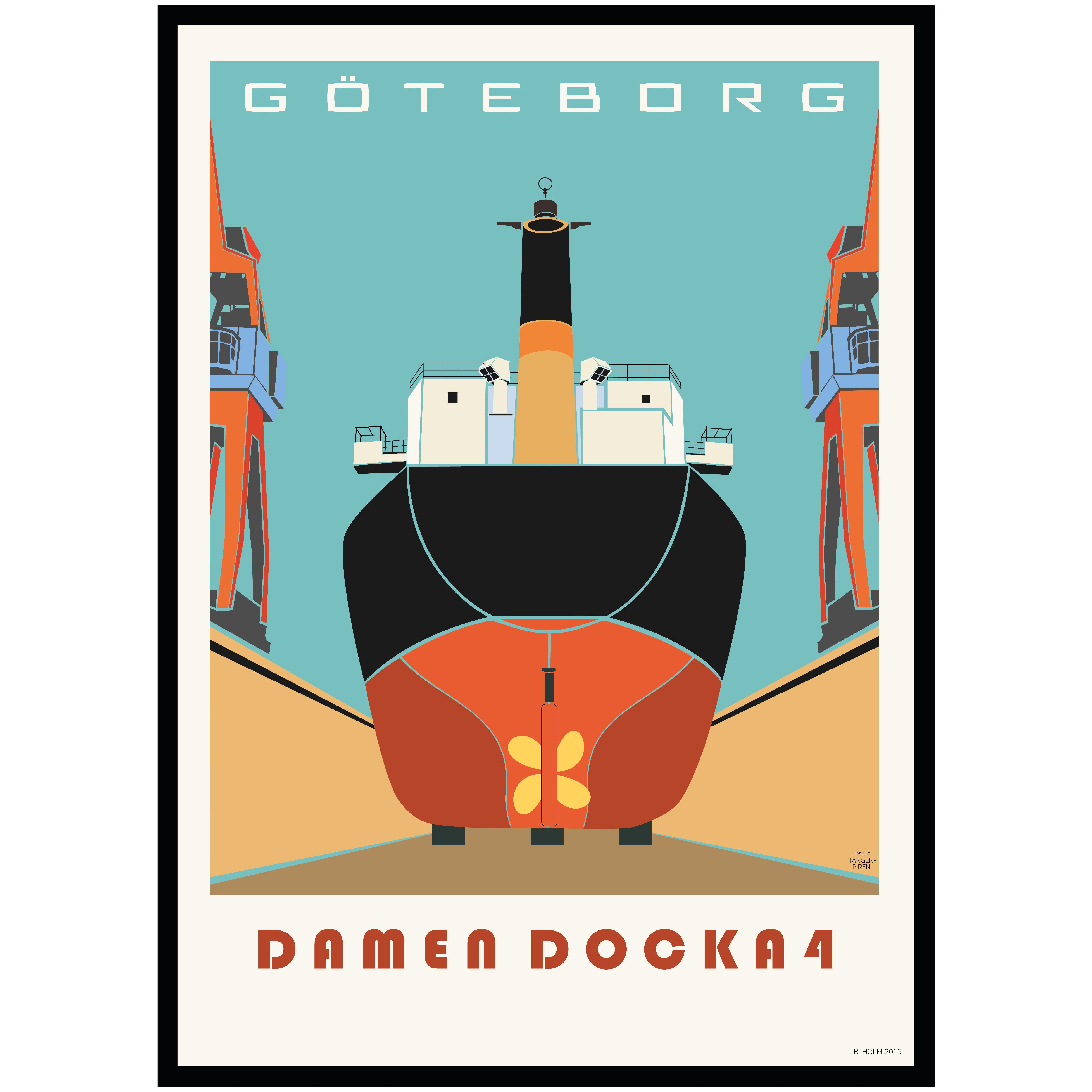 A013Poster Göteborg Docka 4