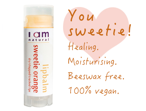 Organic Sweetie Orange Lipbalm